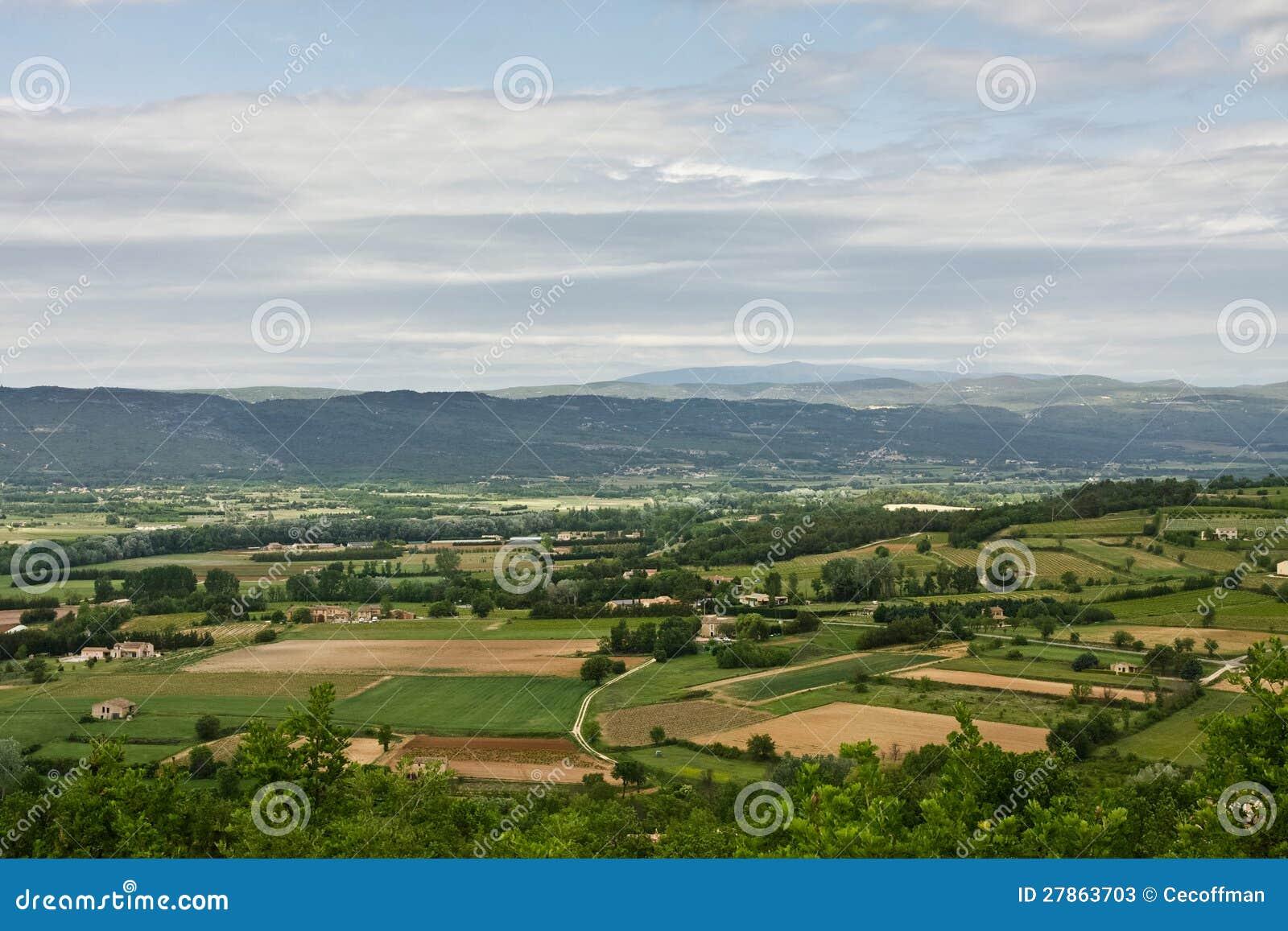 Provençal Krajobraz