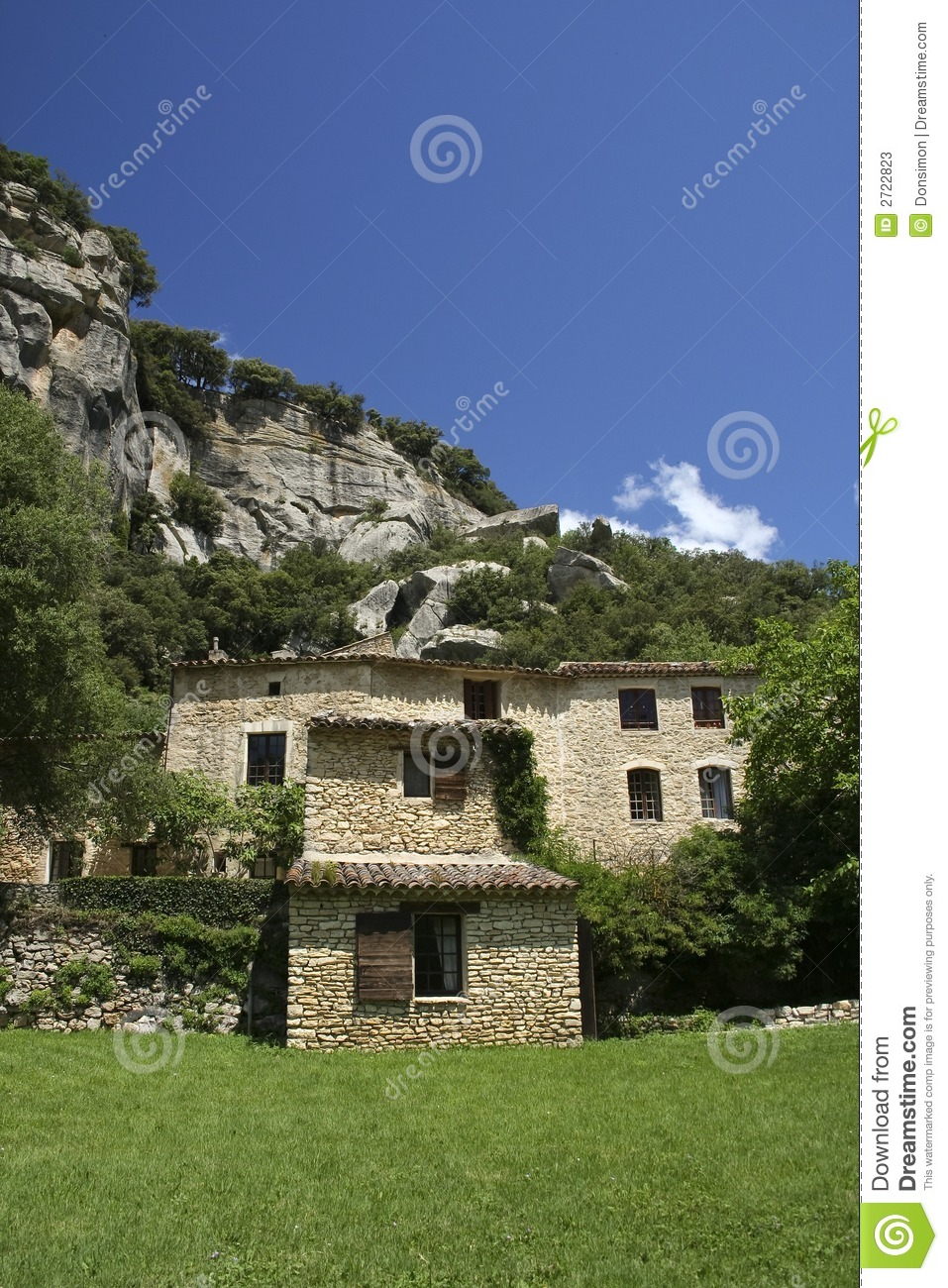 Provencal Home French Countryside Living Stock Photos