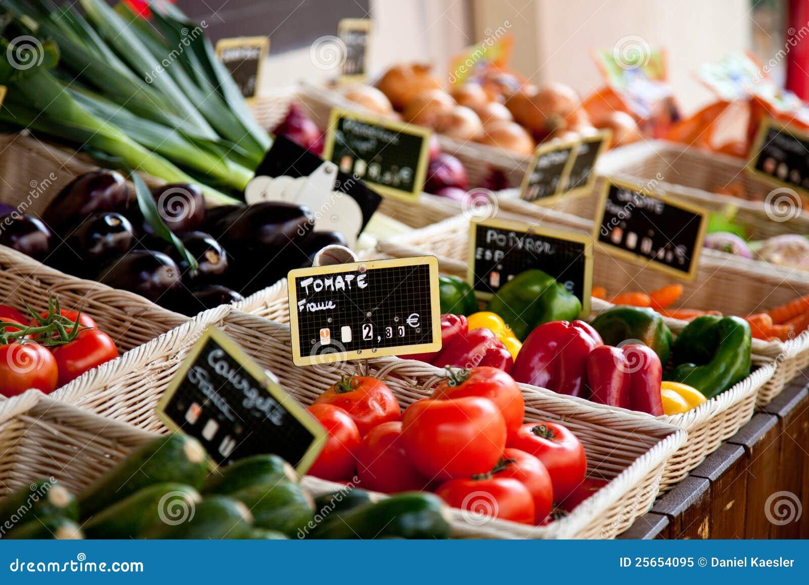 Provencal stall för marknad