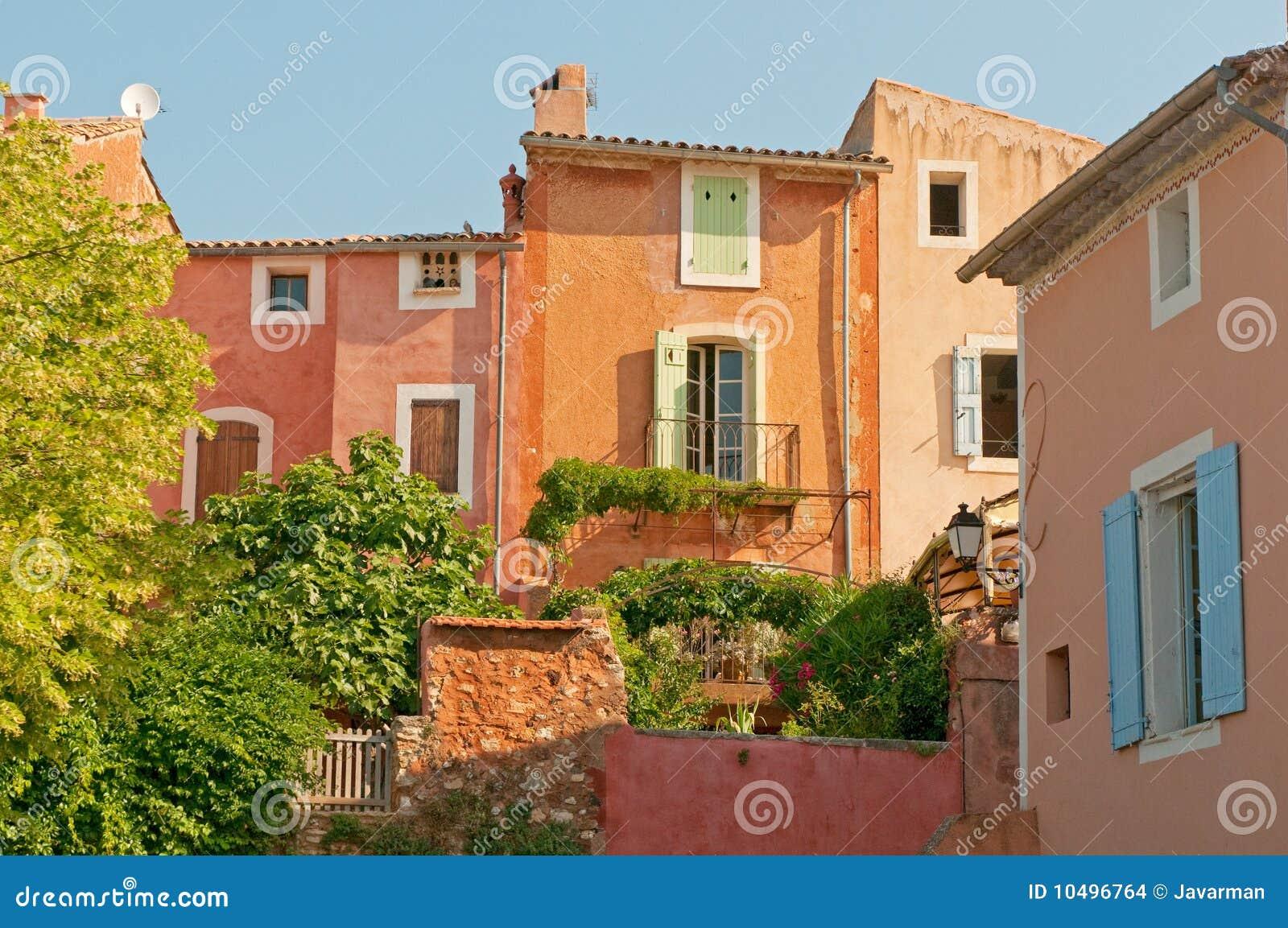 Provencal village of Roussillon