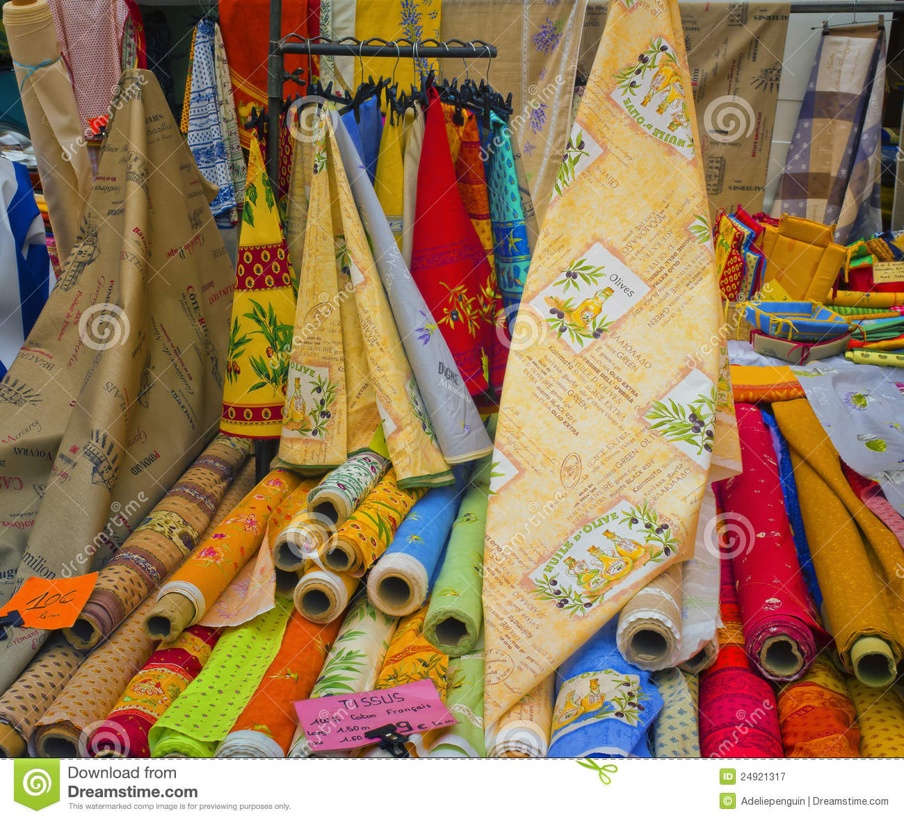 Provence Fabric France Editorial Photography Image Of