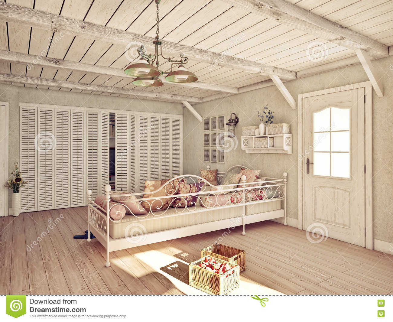 Provence Interior Royalty Free Stock Photography Image