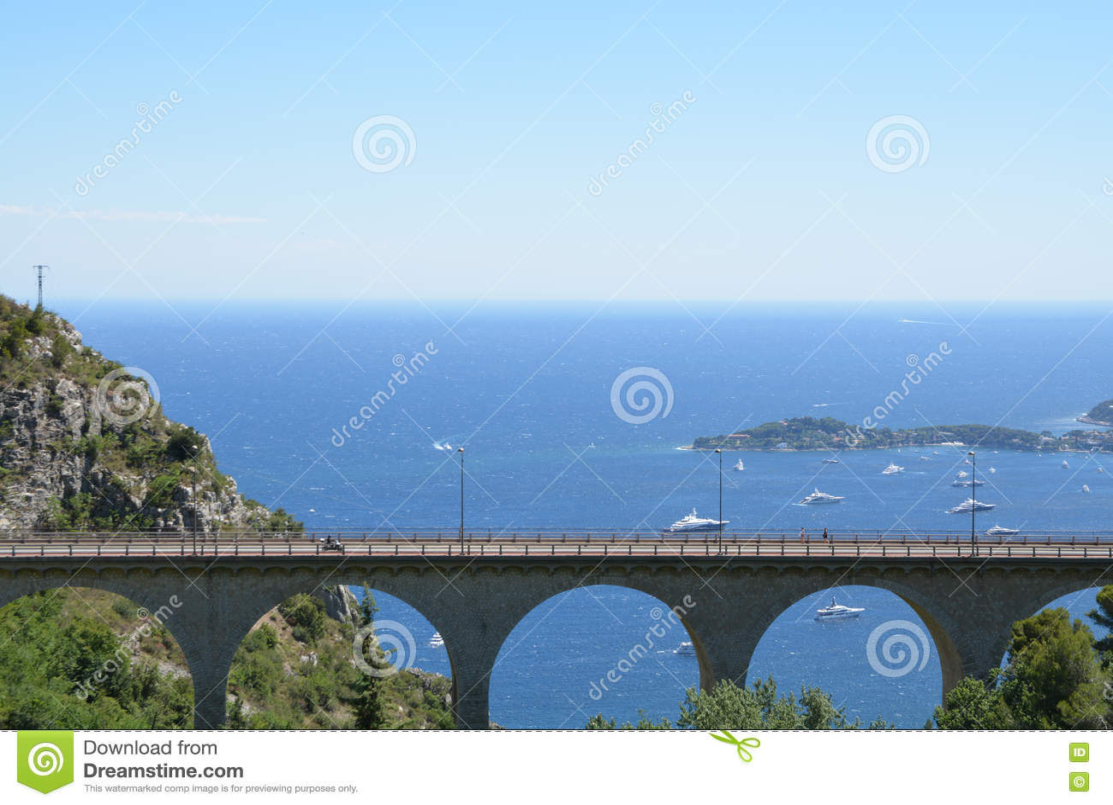 Provence landscape - Eze