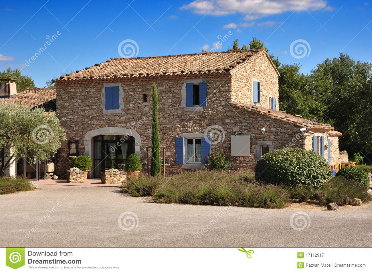 Provence stone house royalty free stock photography - Casas en la provenza ...