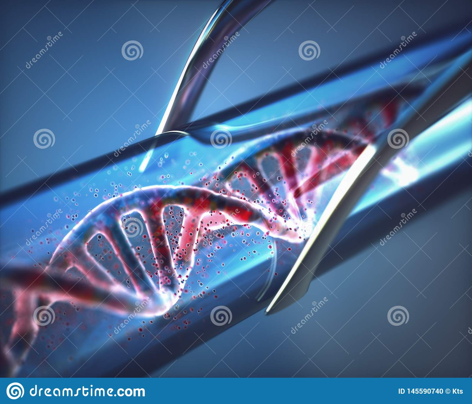 Provetta artificiale del DNA