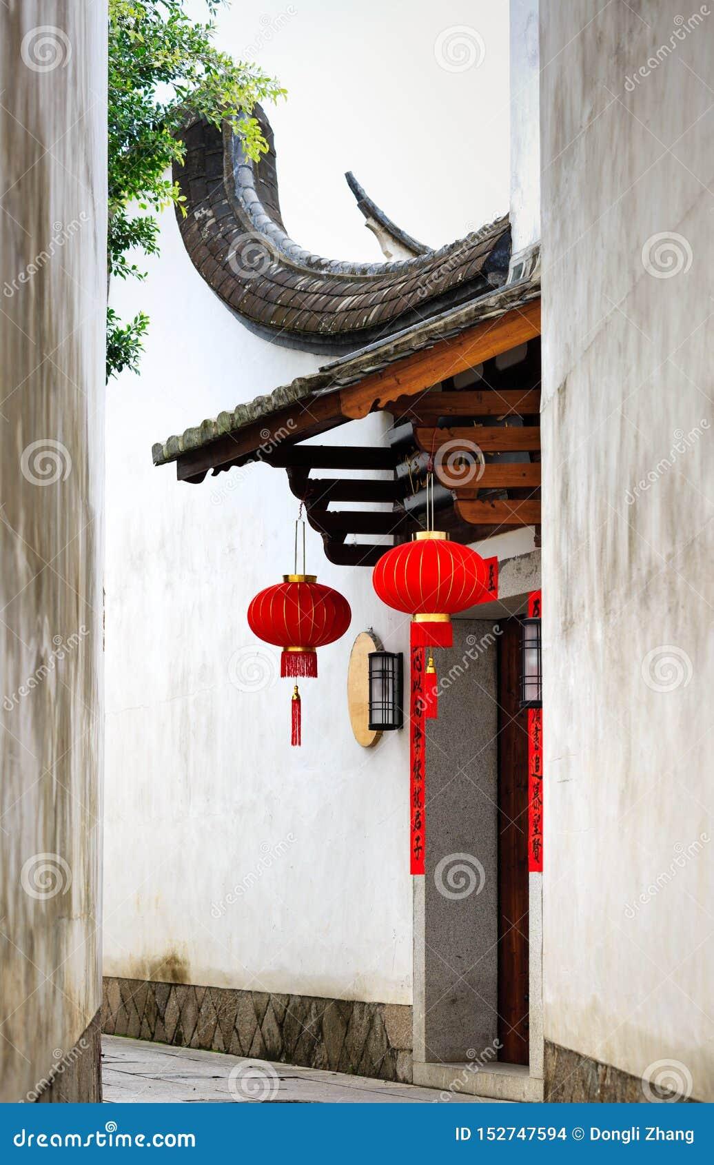 Province de Fuzhou, Fujian, Chine 6 MARS 2019 : le secteur historique et culturel célèbre à Fuzhou