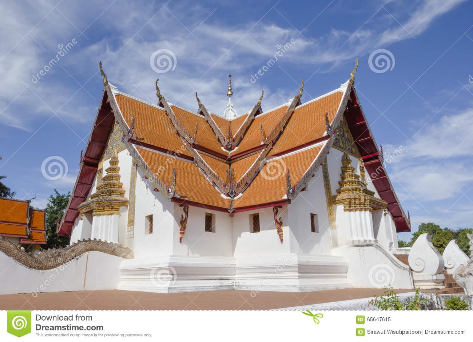 Province de Nan de temple de Phumin, Thaïlande