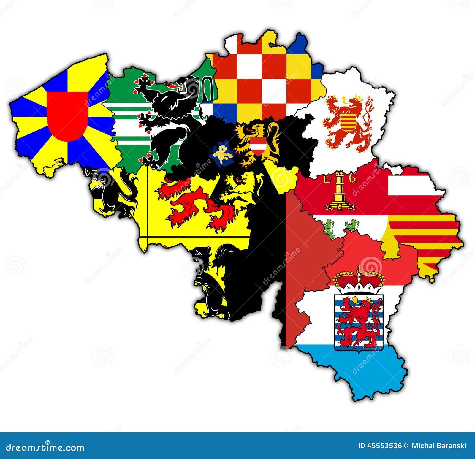 Provinces On Map Of Belgium Illustration Image 45553265 – Belgium Provinces Map