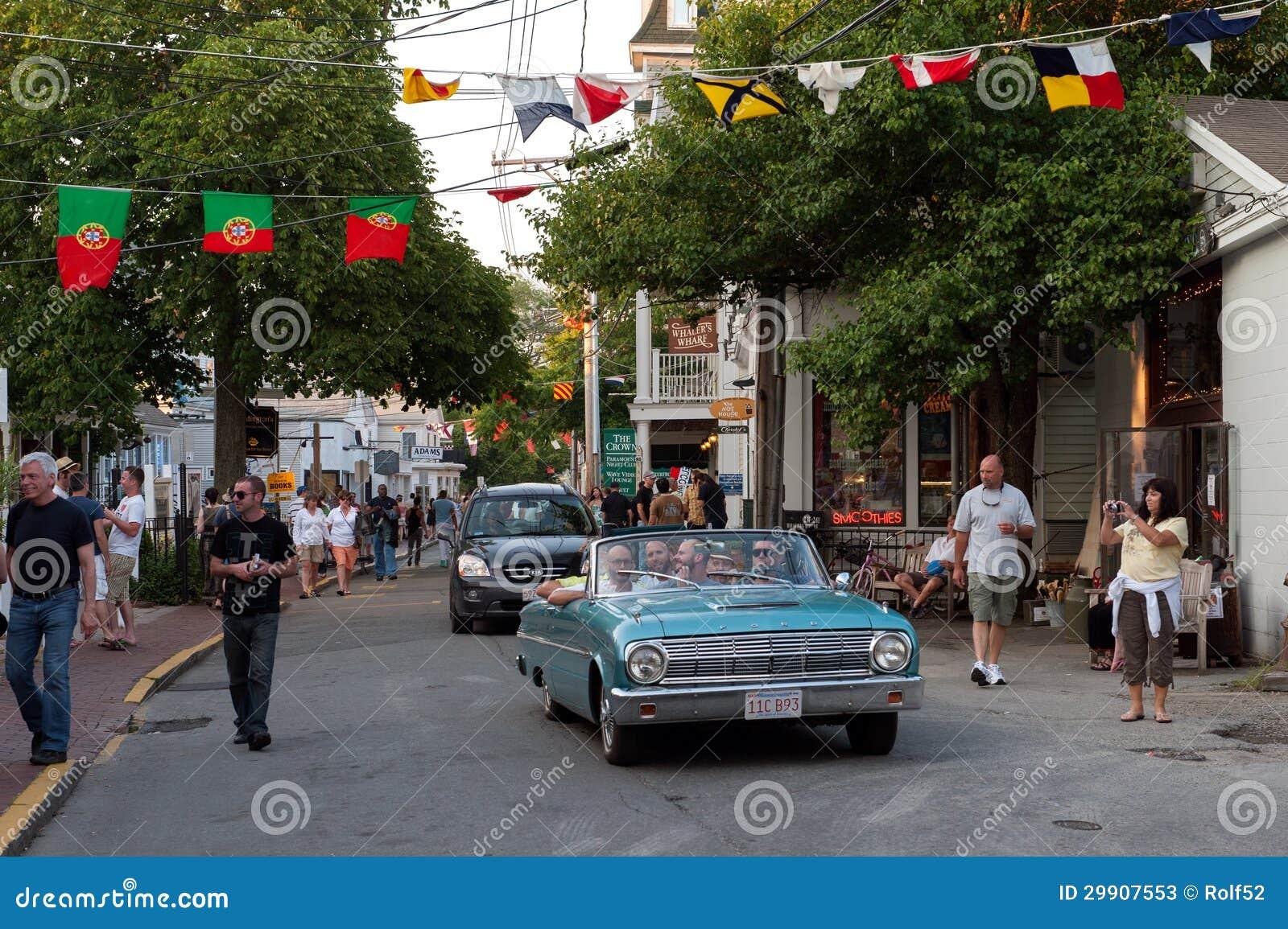 Het kruisen op Commerciële Straat