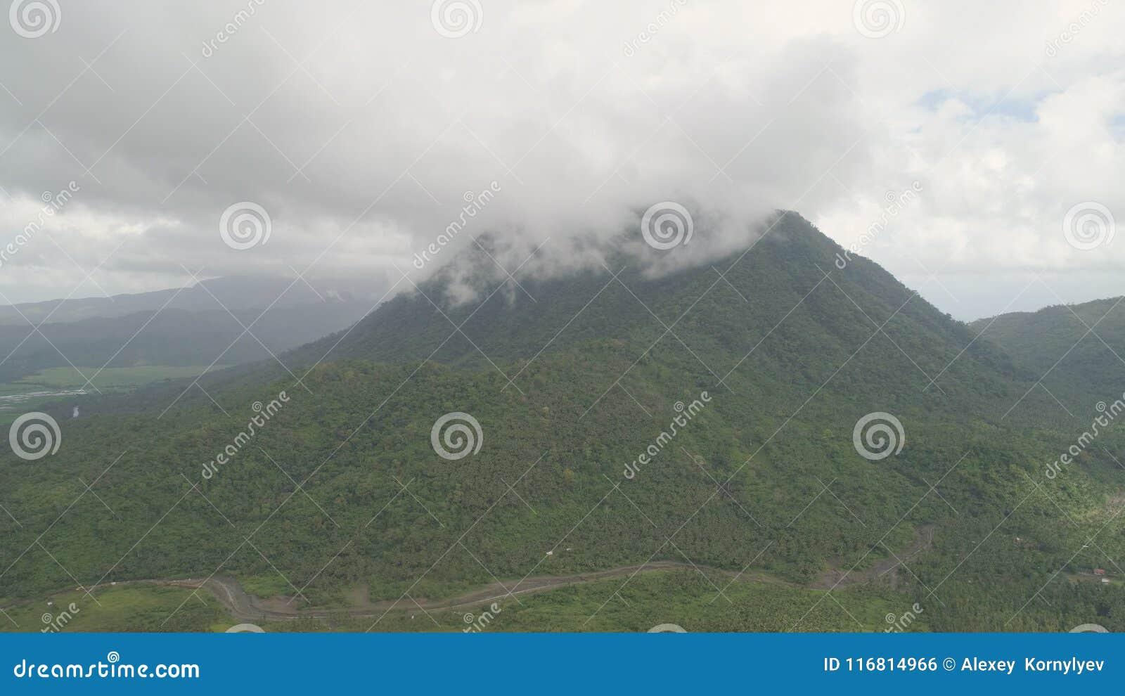 Provincia della montagna nelle Filippine