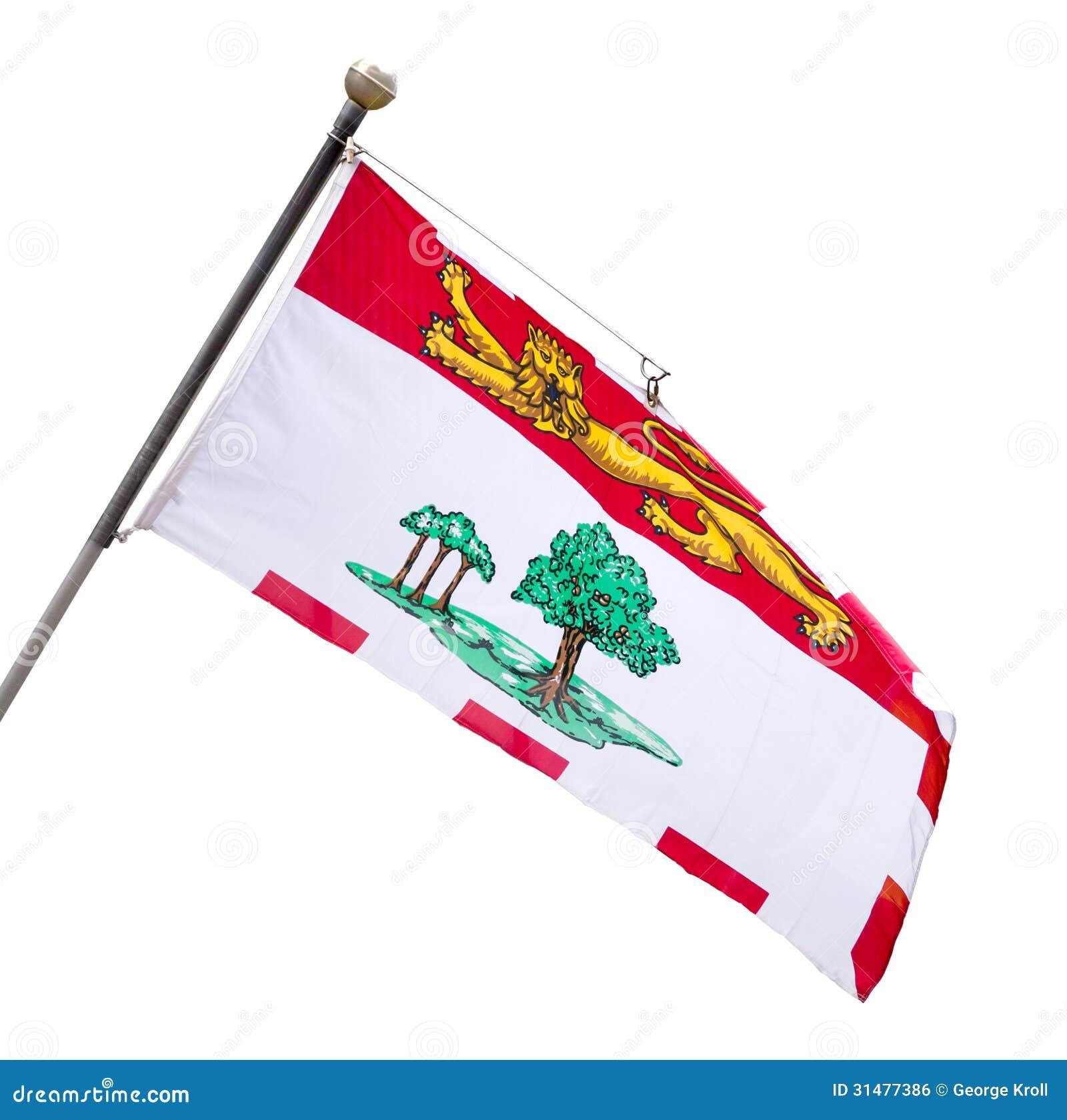 Provinzielle Flagge von Prinzen Edward Island