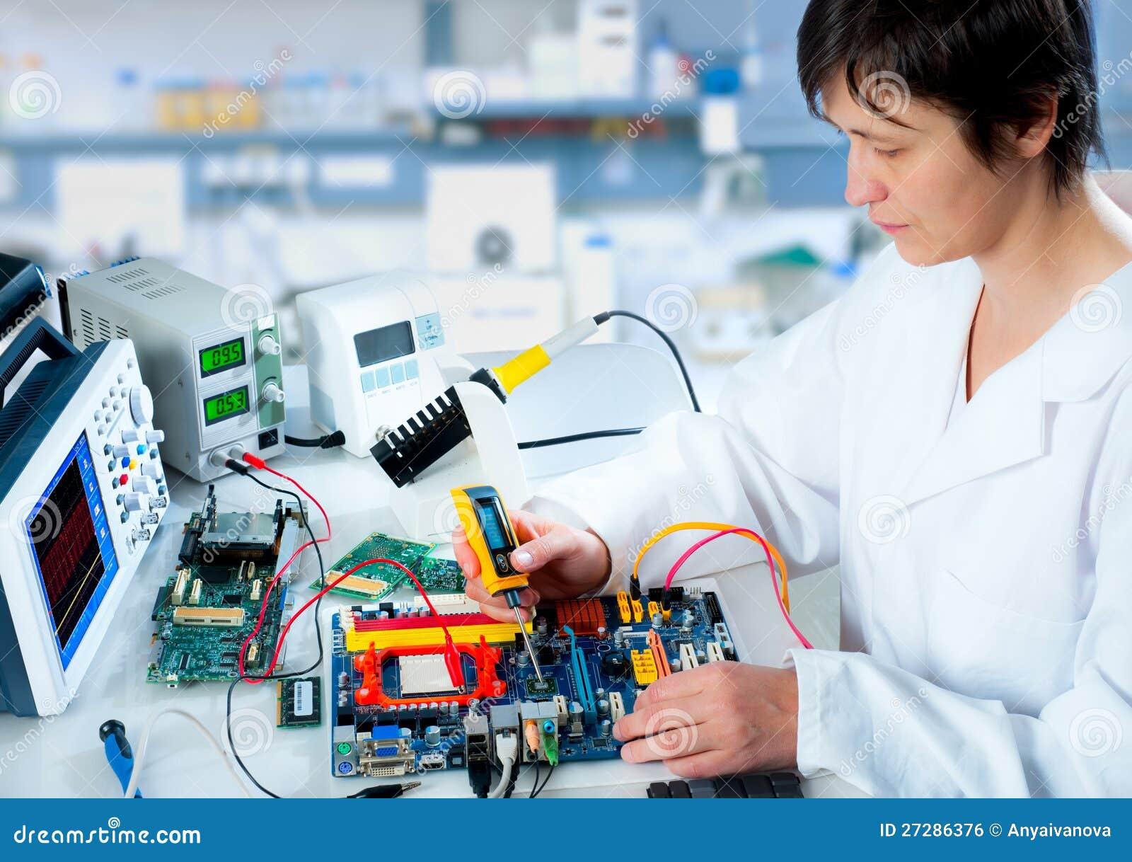 Provning av elektronisk utrustning