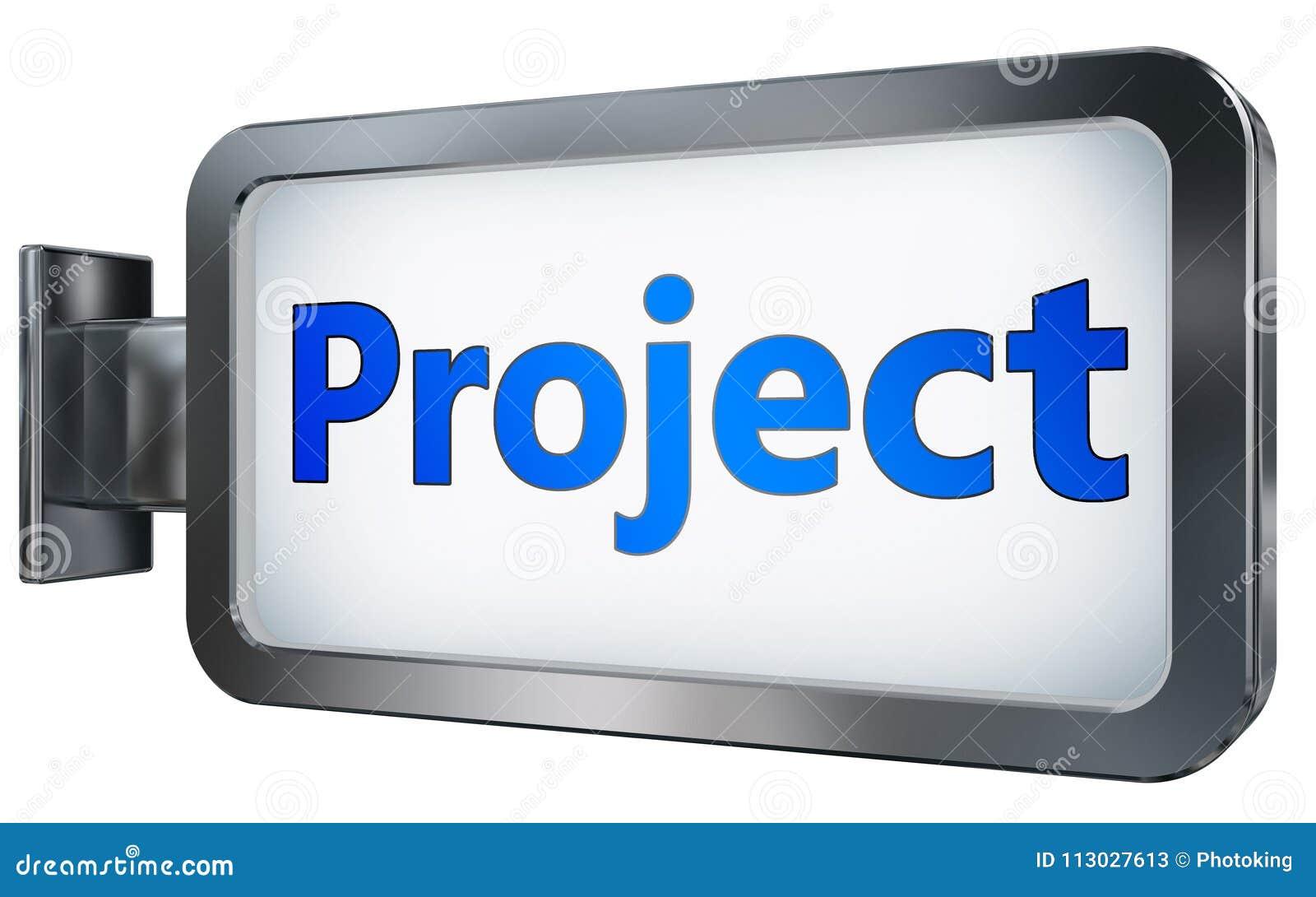 Proyecto sobre fondo de la cartelera