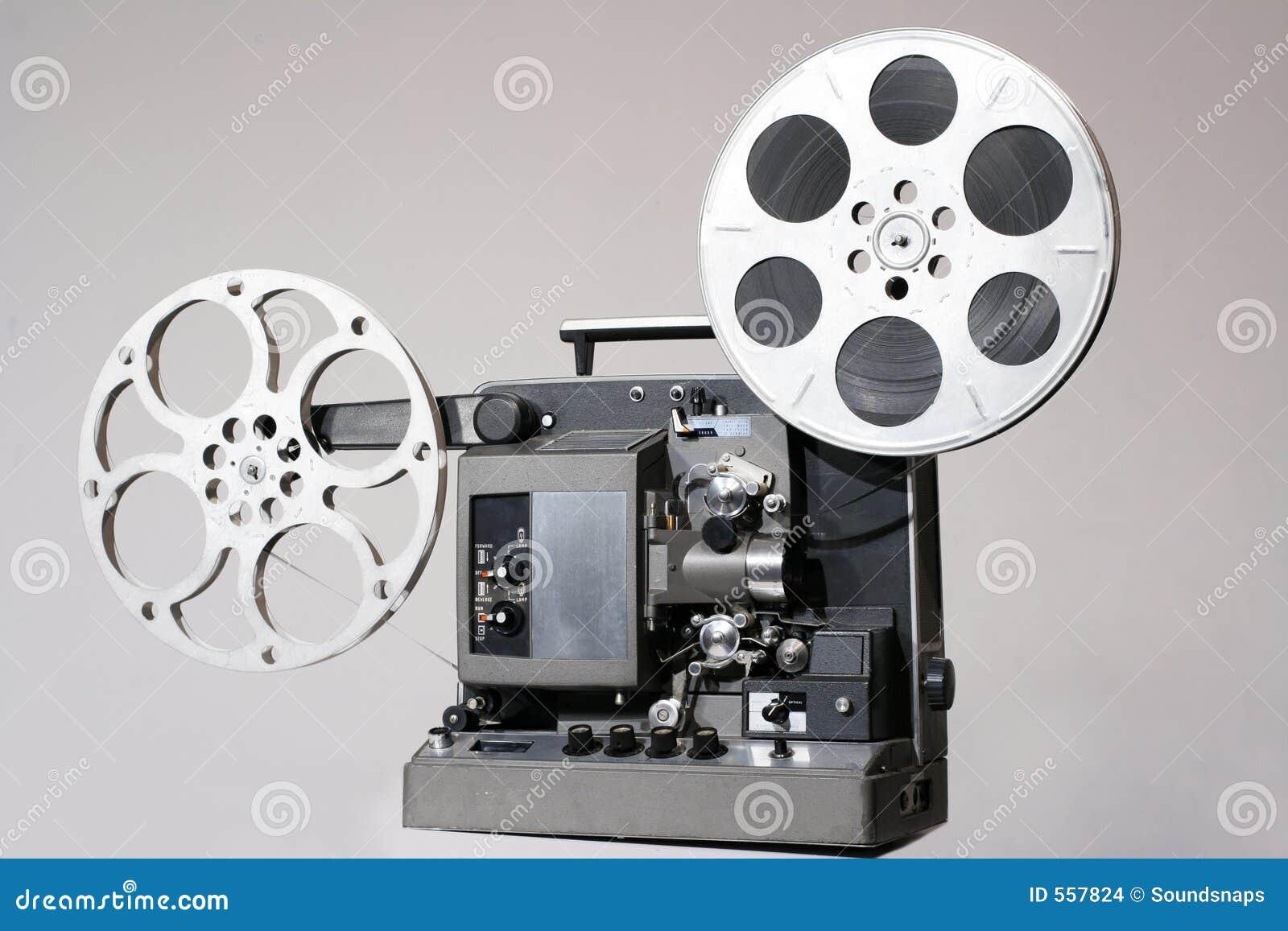 Proyector de película retro de 16m m