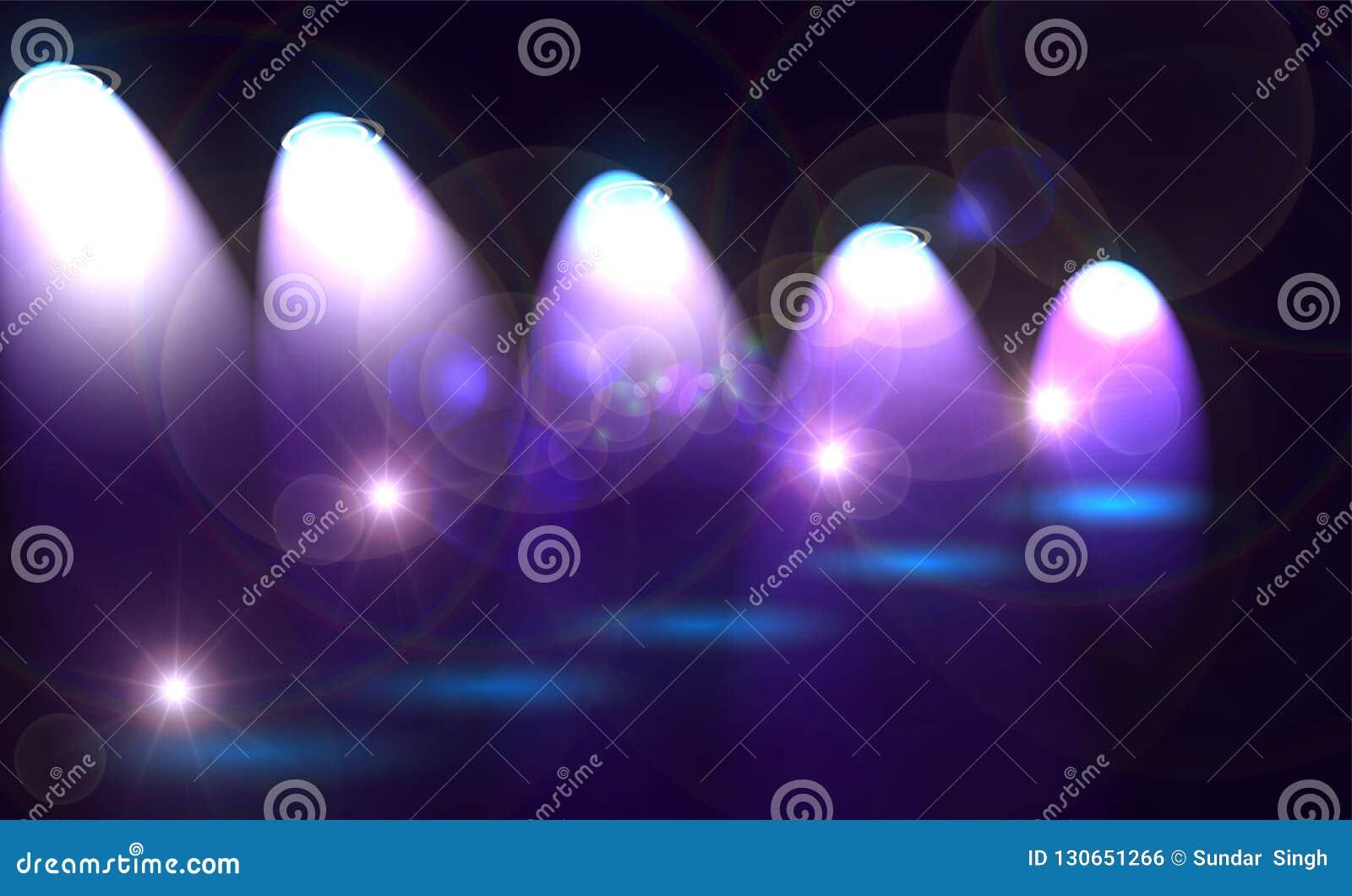 Proyector hermoso de la iluminación del proyector extracto del humo texturizado