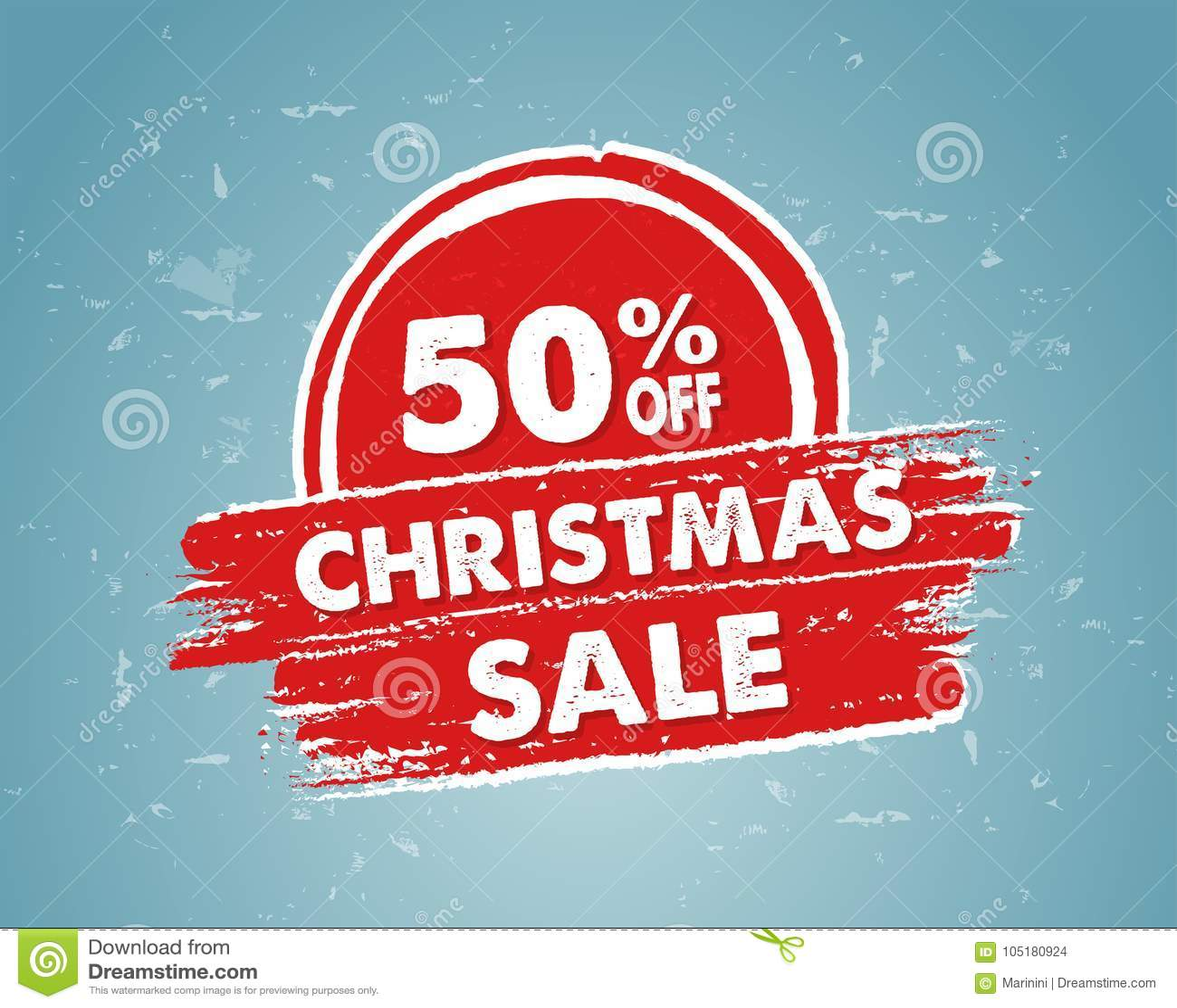 50 Prozent Heruntergesetzt Weihnachtsverkauf In Der Roten ...