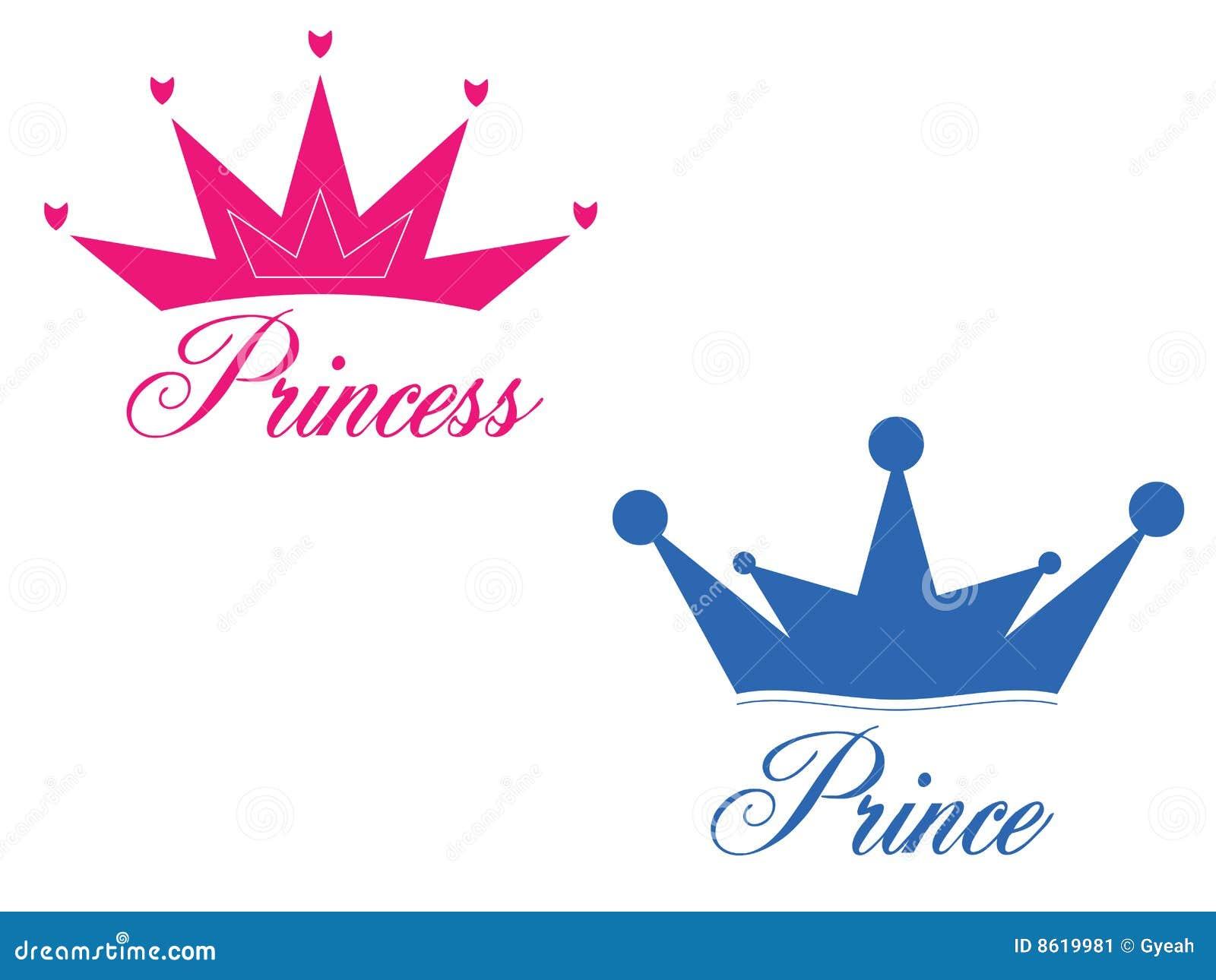 pr u00edncipe y princesa ilustraci u00f3n del vector ilustraci u00f3n de prince crown clip art free prince crown clipart images