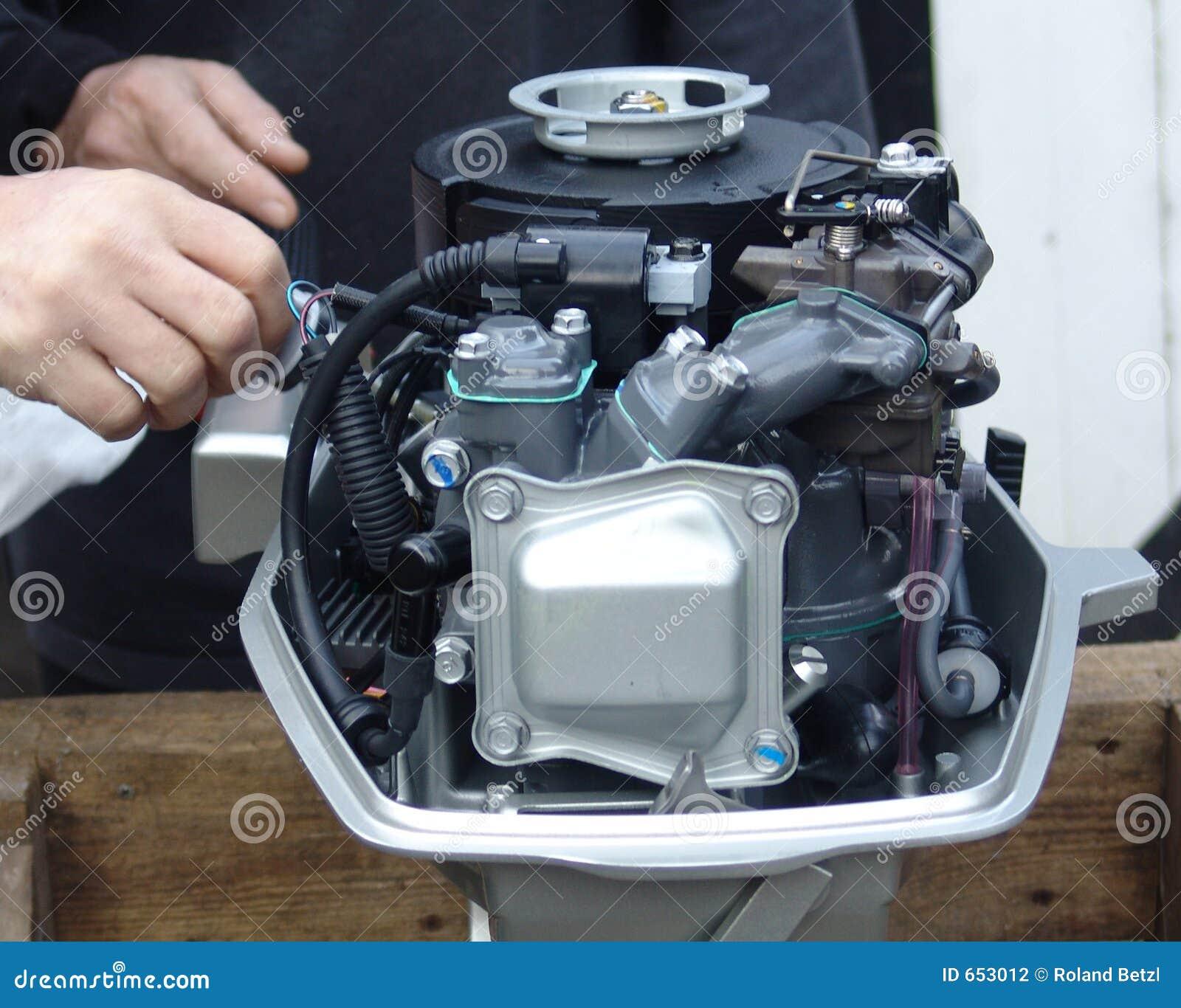Prueba 001 del motor