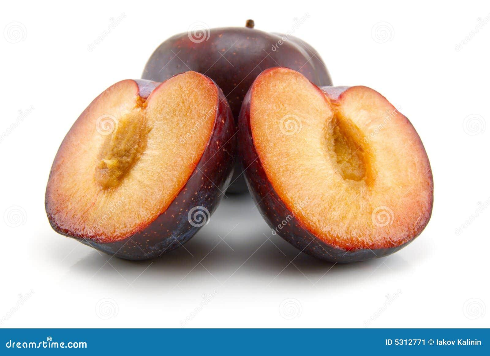 Download Prugne immagine stock. Immagine di sano, dolce, pianta - 5312771