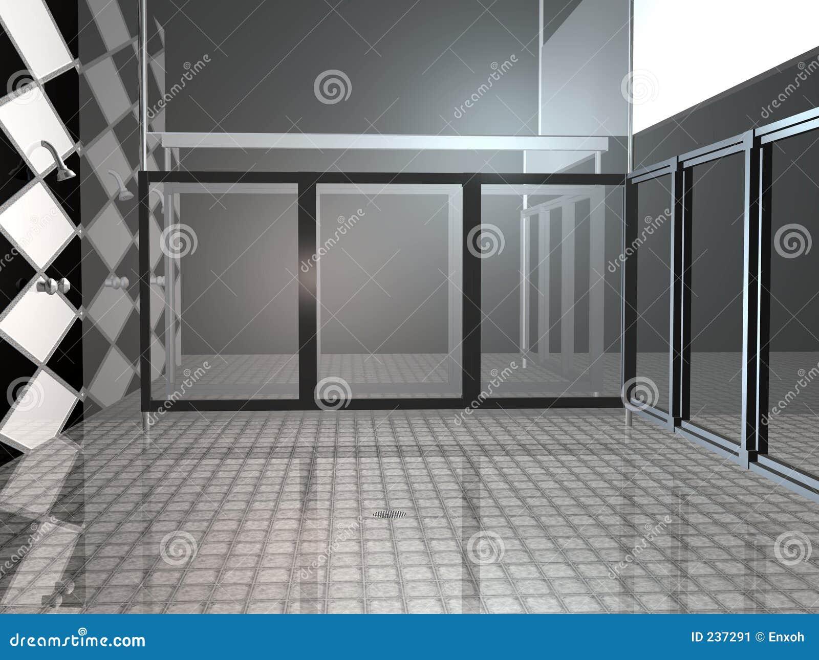 Prysznic publicznej