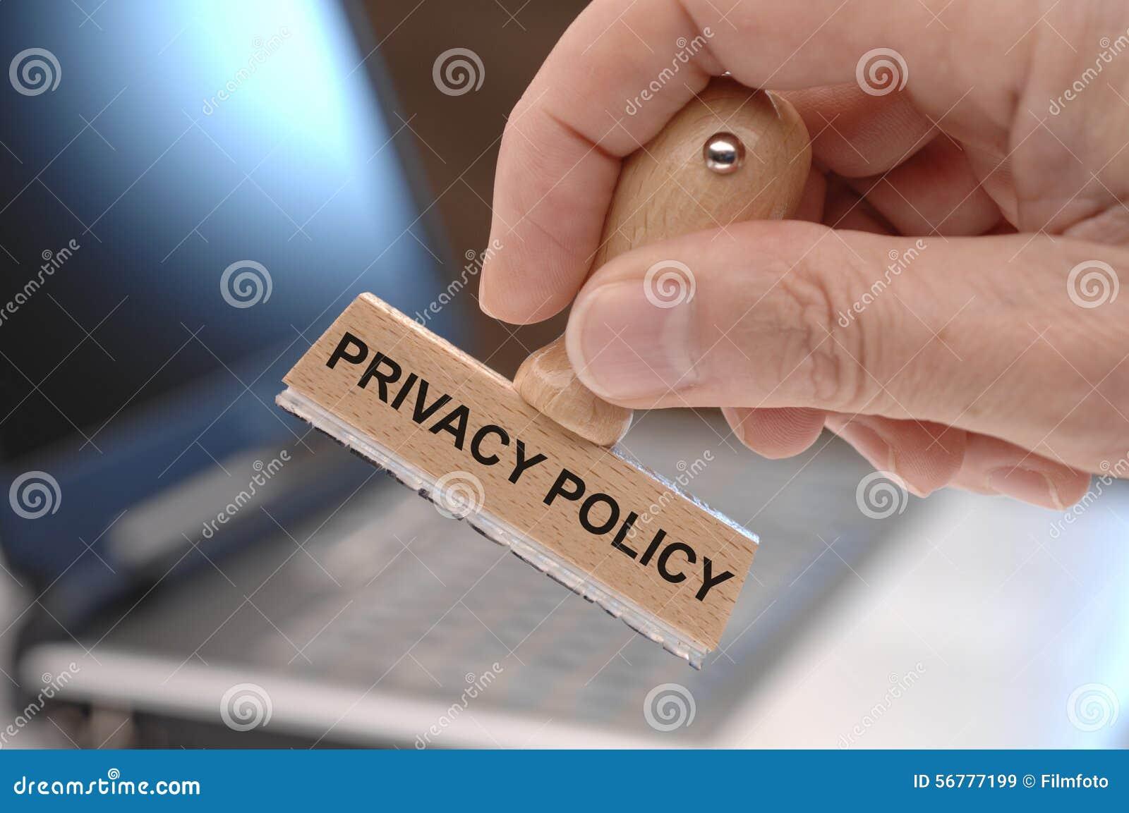 Prywatności polisa