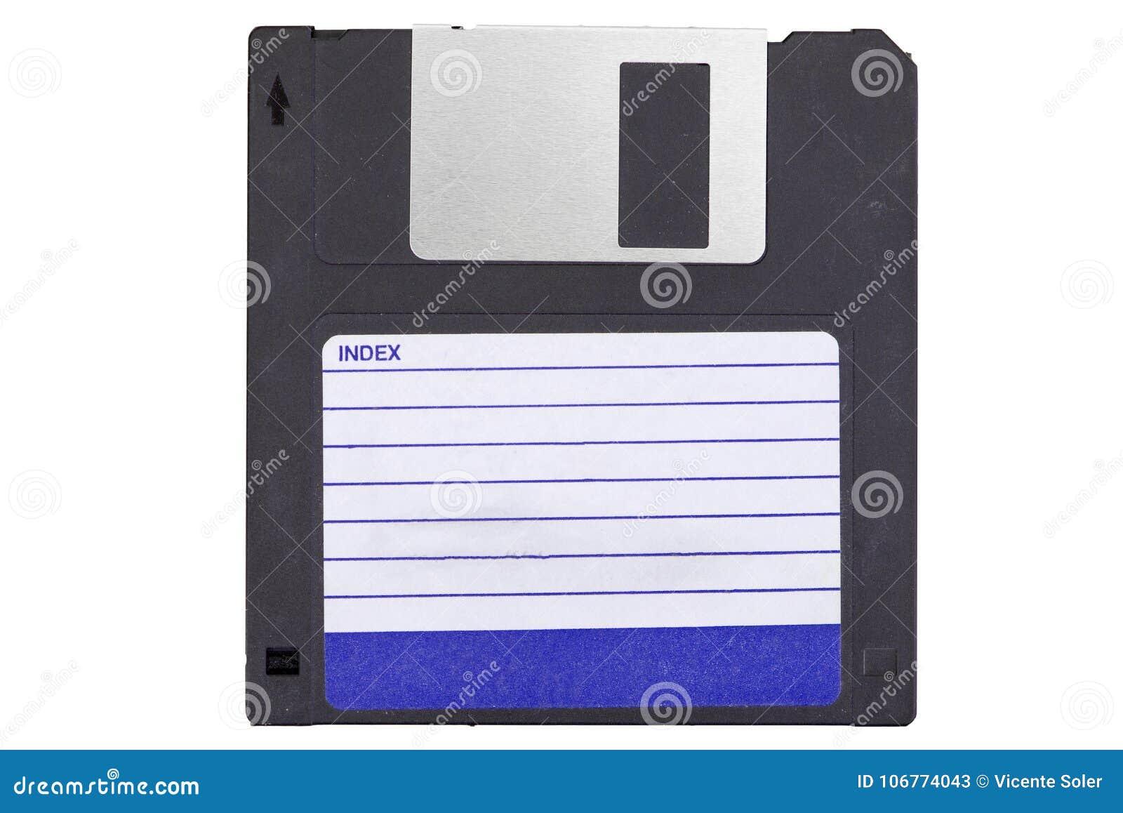 Przód stary magnesowy disket