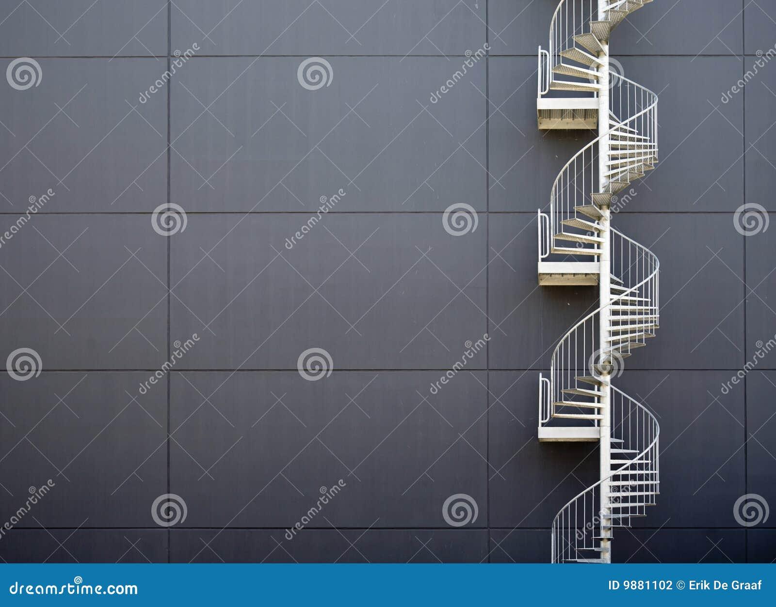 Przeciwawaryjni schodki