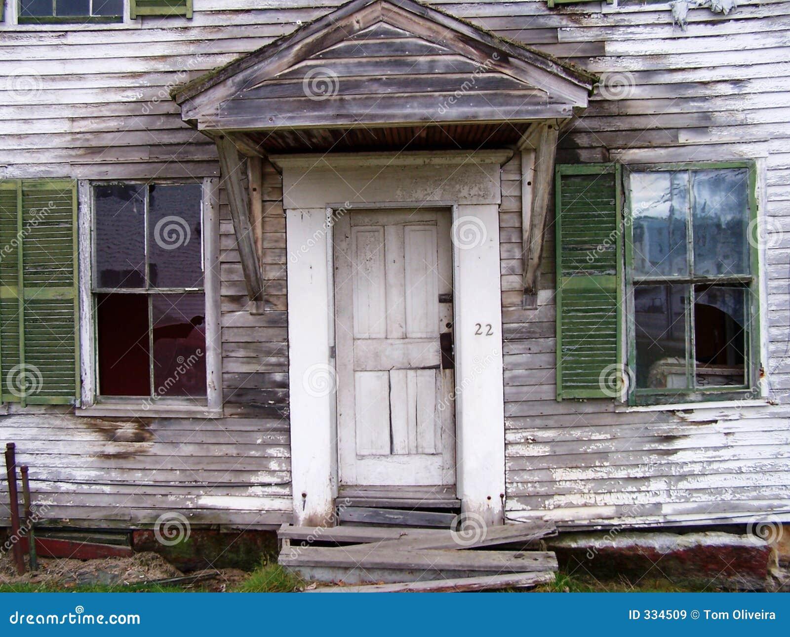 Przednie drzwi świetle okno
