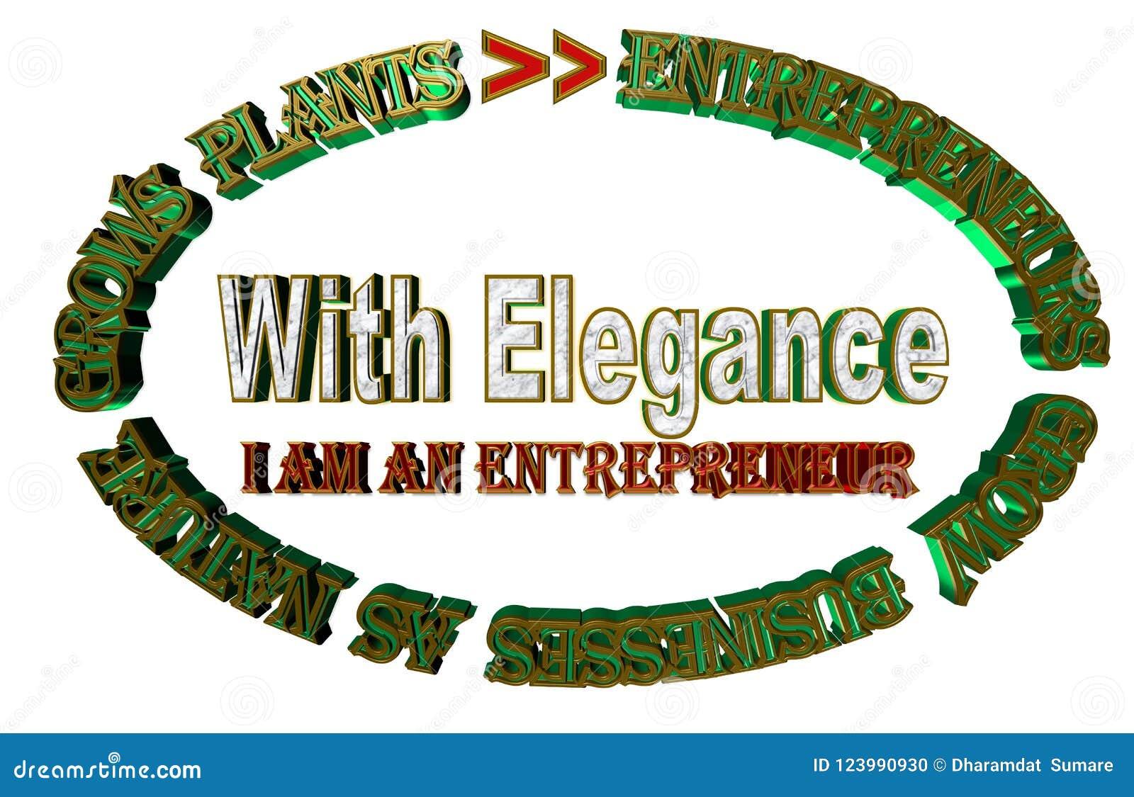 Przedsiębiorcy r biznesy gdy natura r rośliny