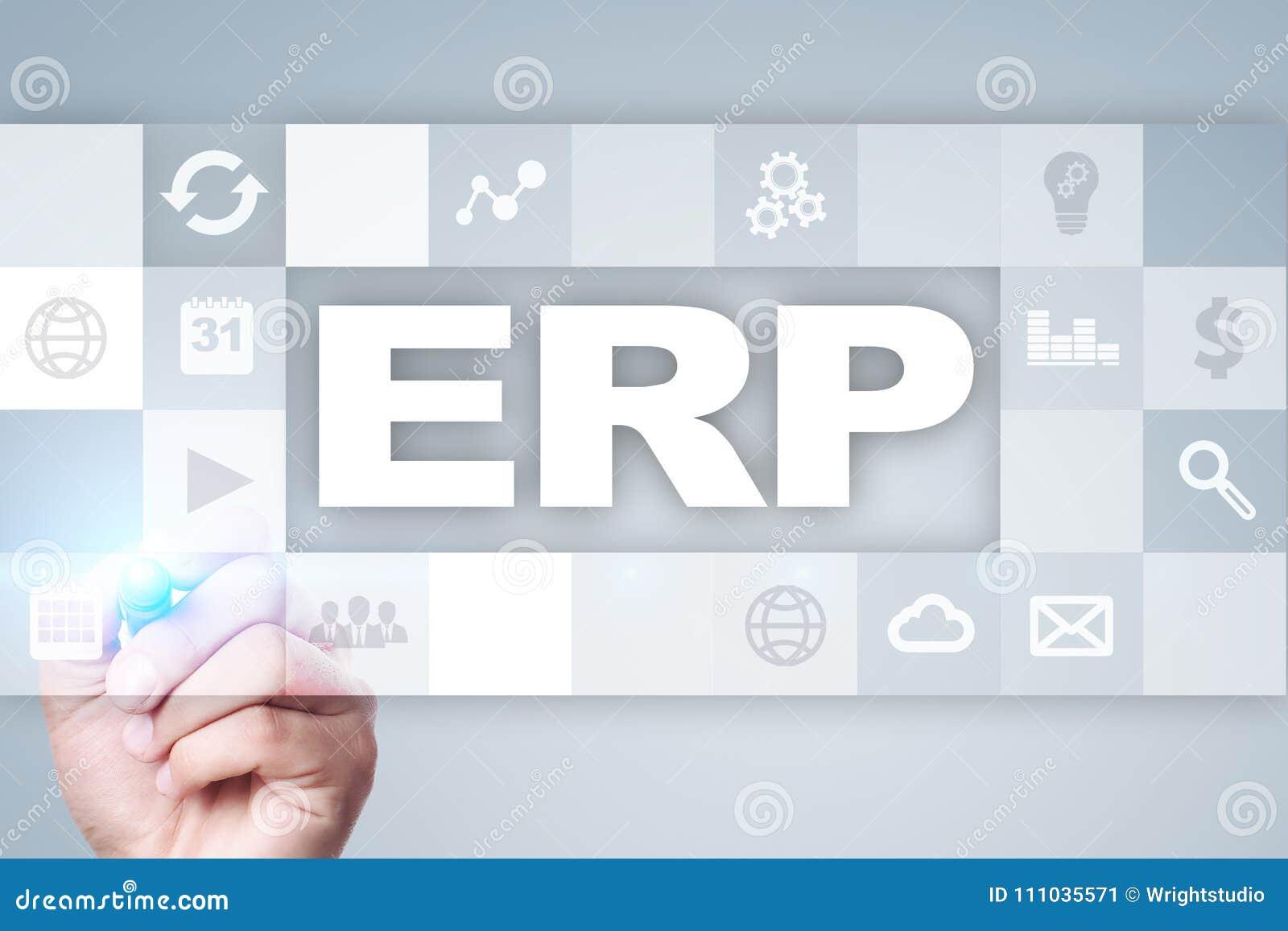Przedsięwzięcie zasoby planuje biznesu i technologii pojęcie