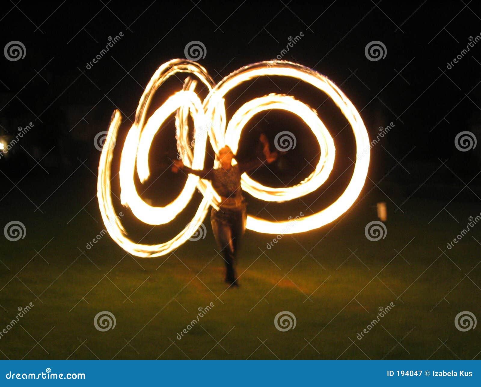 Przedstawienie ognia
