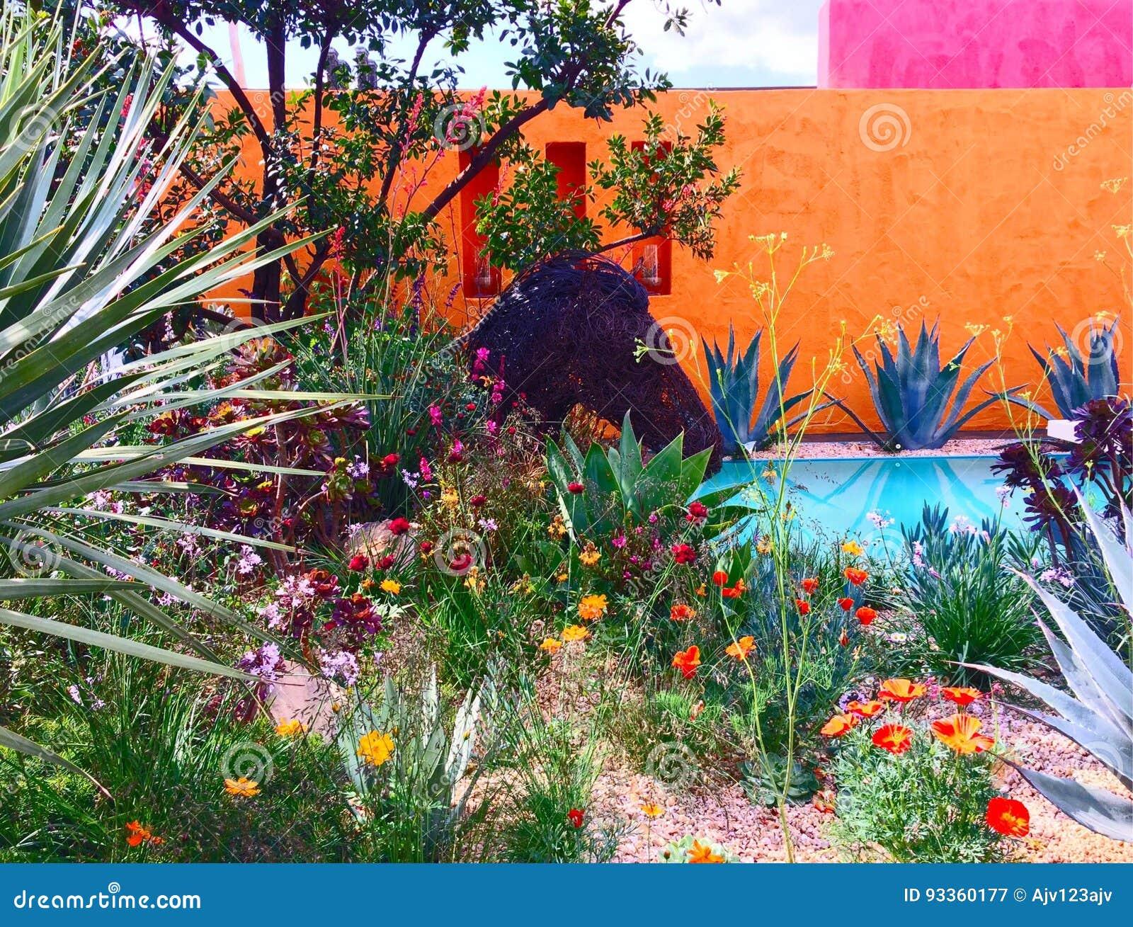 Przedstawienie ogród przy Chelsea kwiatu przedstawieniem