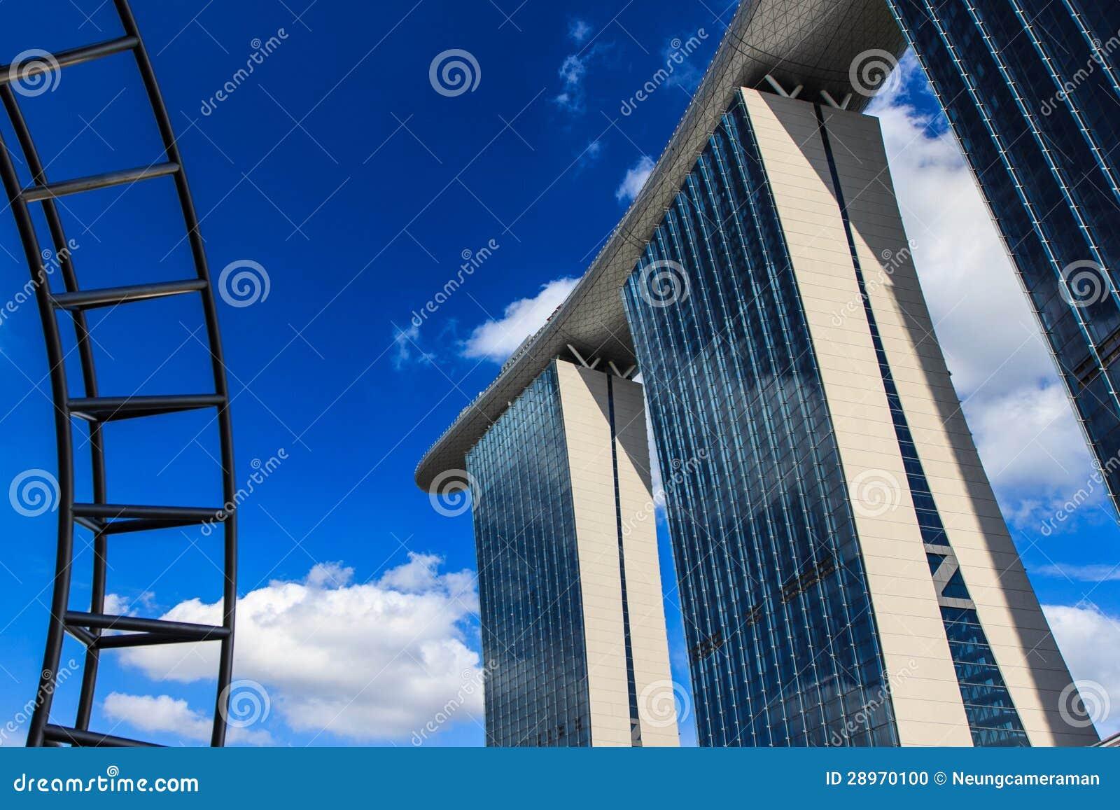 Przegląda światło dzienne Singapur.