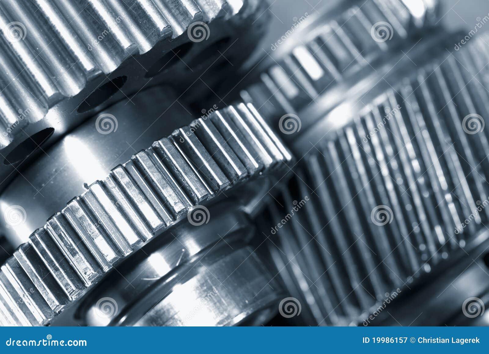 Przekładni gigantyczny maszynerii titanium