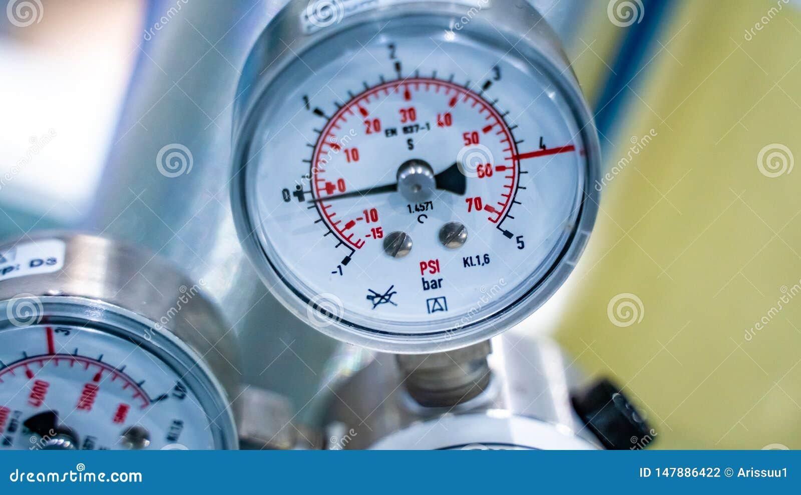 Przemysłowa Ciśnieniowego regulatoru Kontrolna klapa