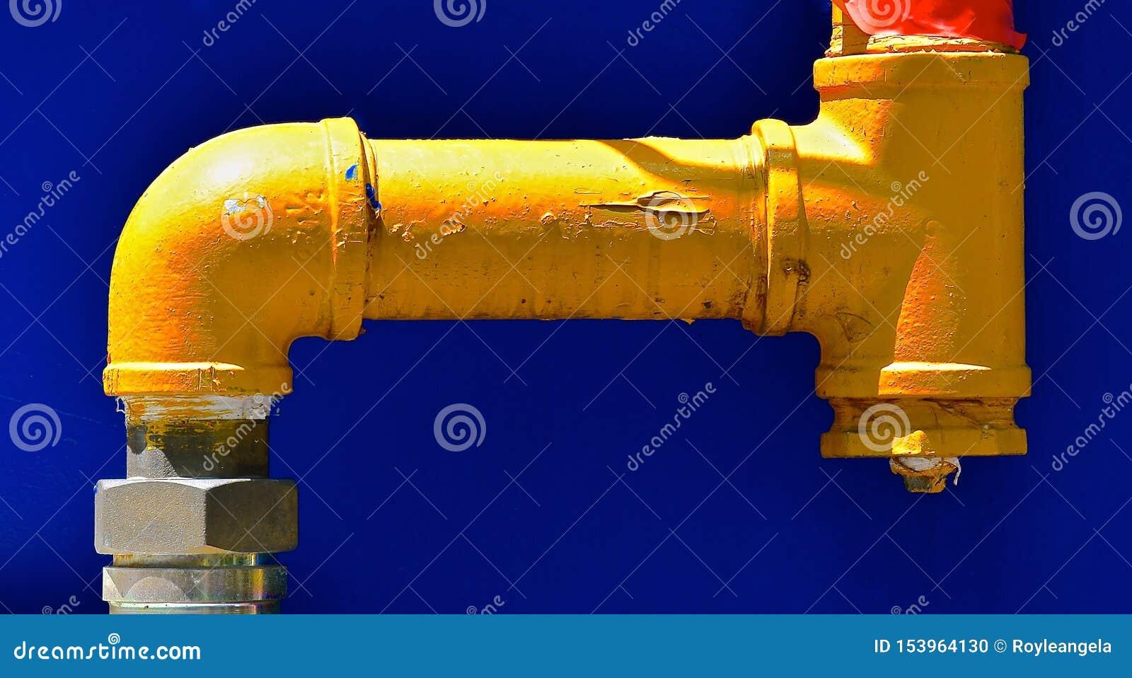 Przemysłowa kolor żółty drymba