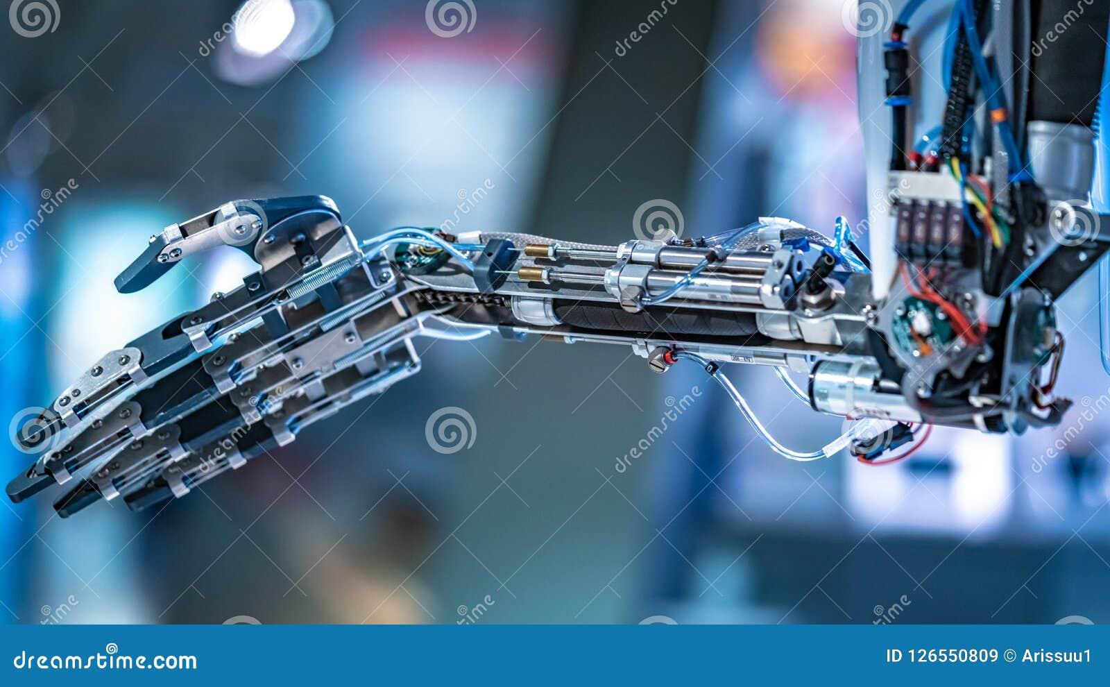 Przemysłowa robotyki maszyna Dla Fabrykować linię