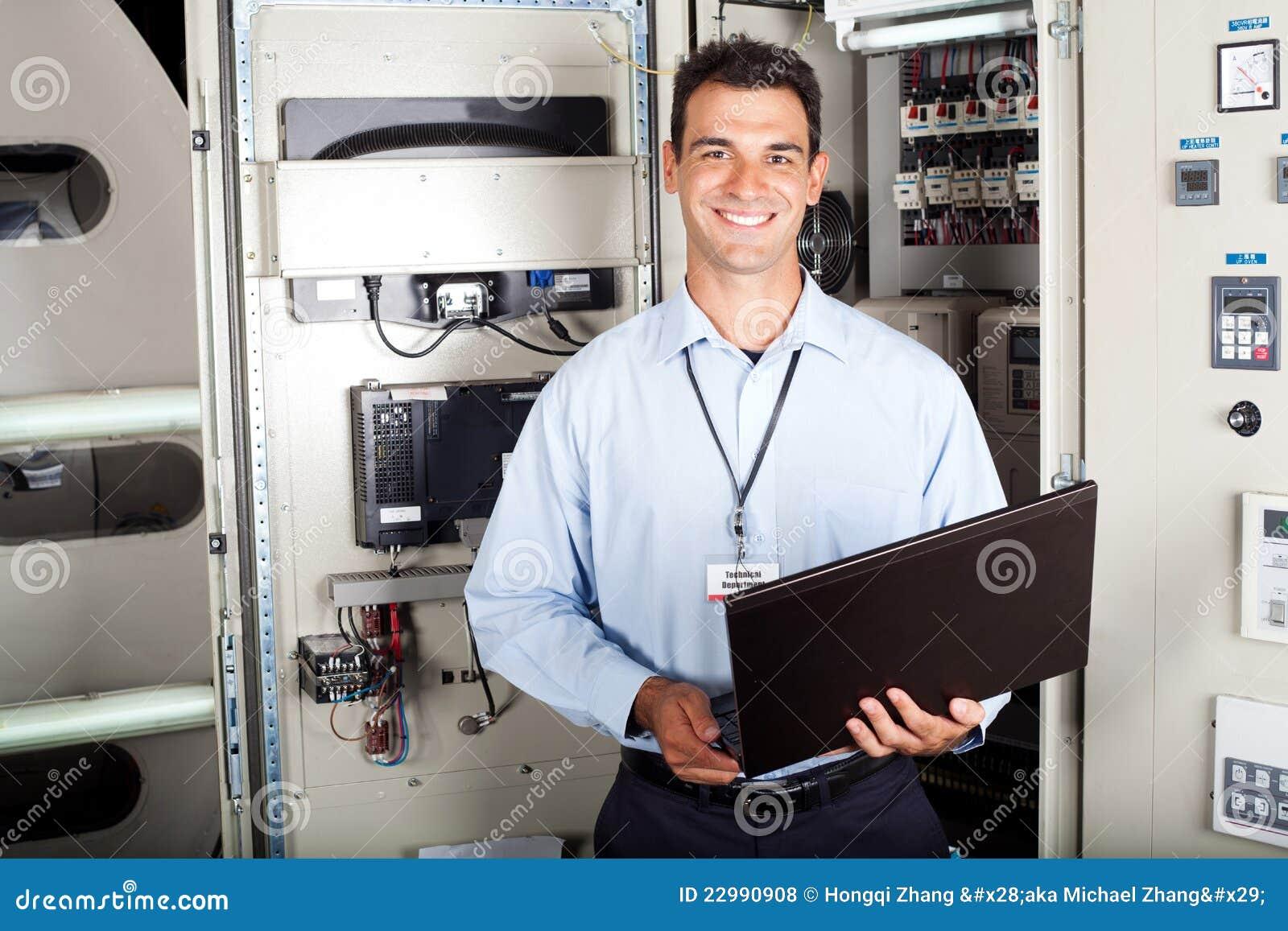 Przemysłowy inżynier
