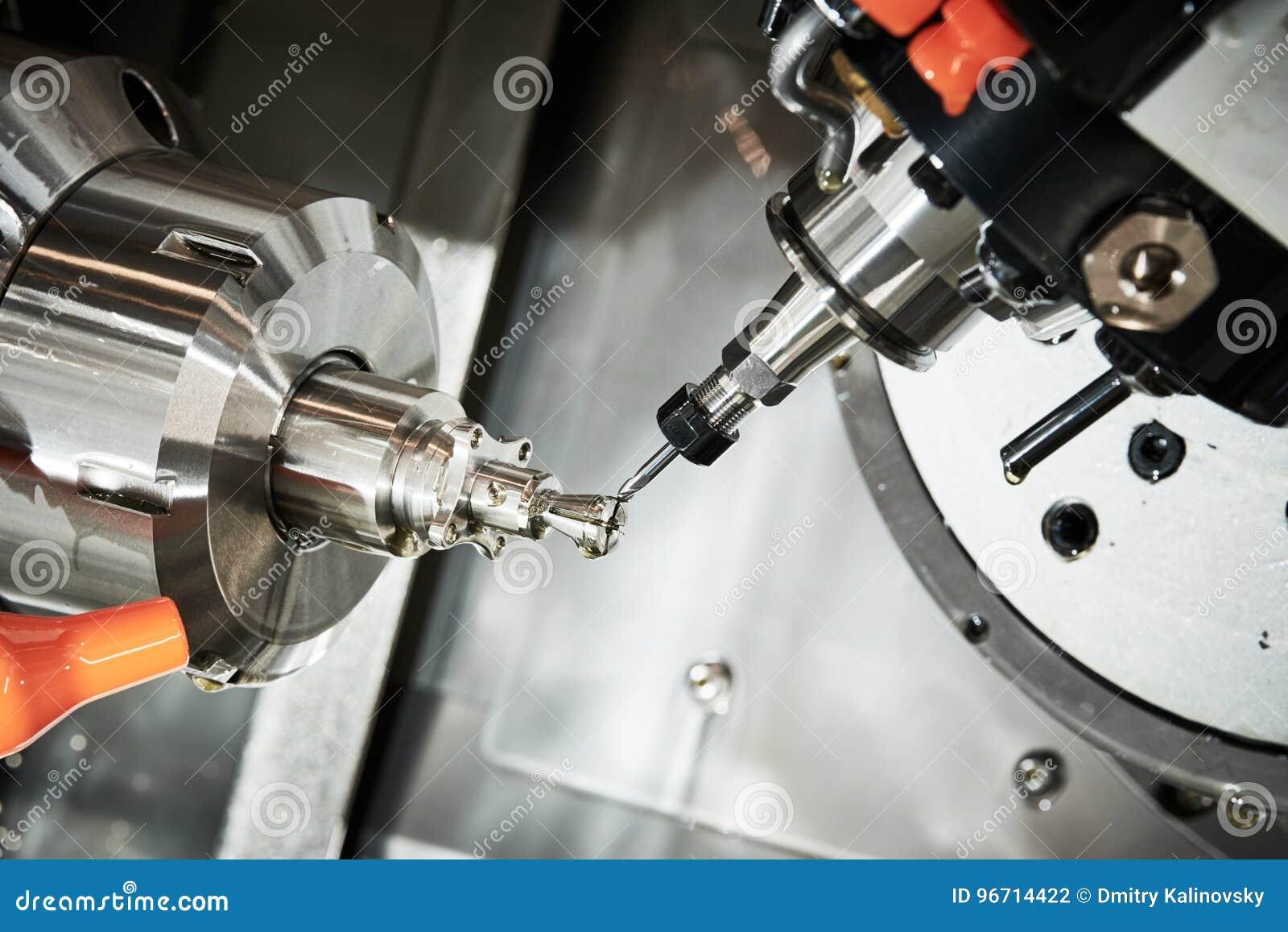 Przemysłowy metalworking rozcięcia proces CNC mielenia krajaczem