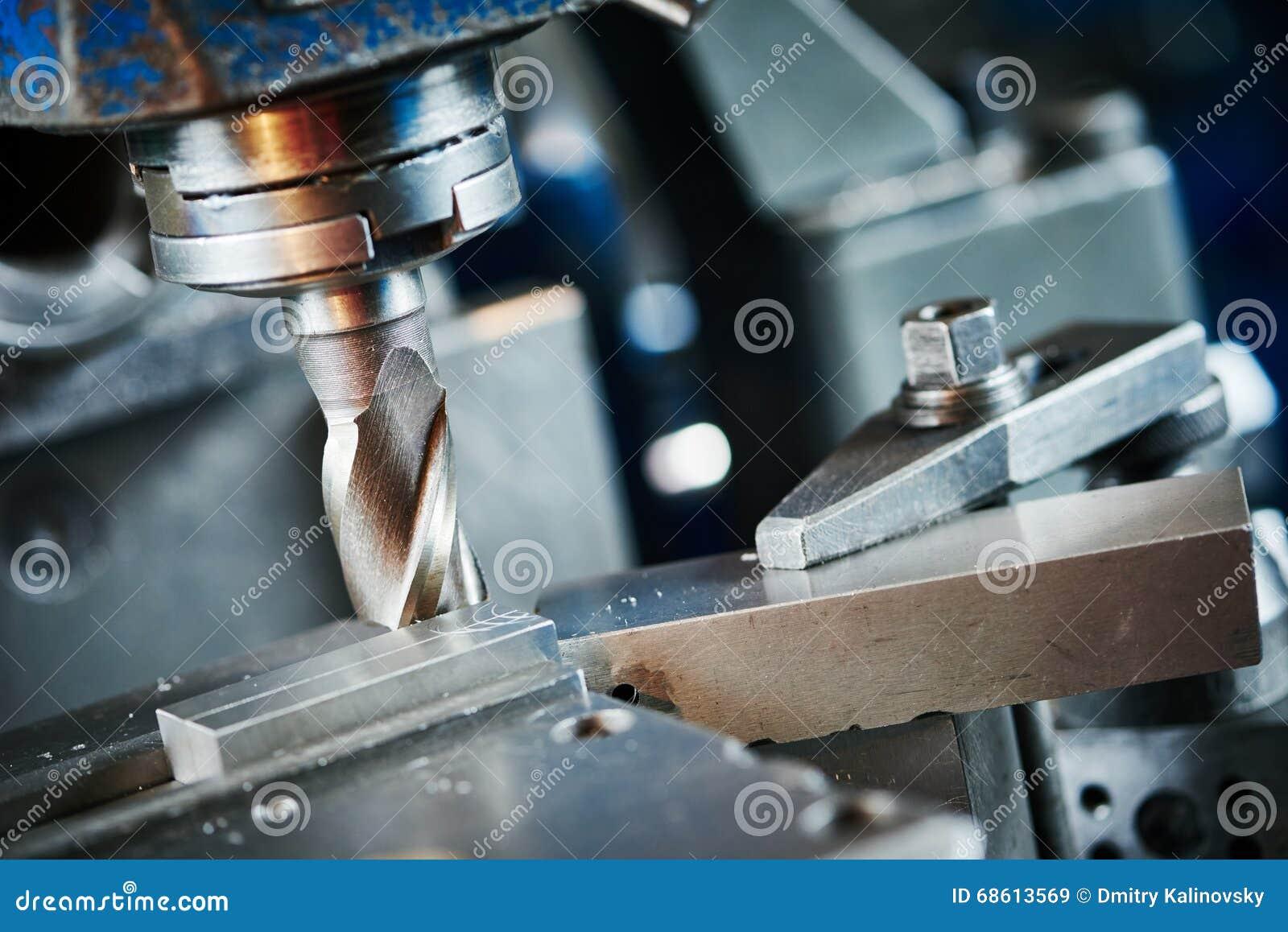 Przemysłowy metalworking rozcięcia proces mielenie krajaczem