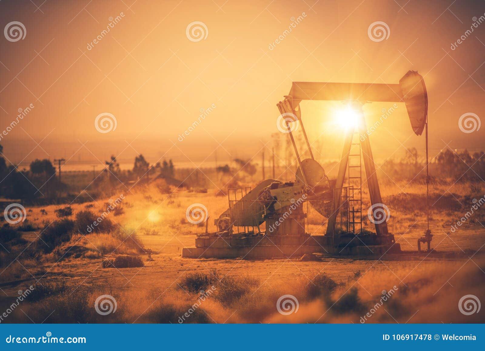 Przemysł Naftowy Pumpjack