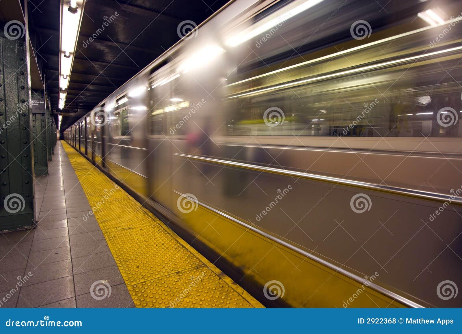 Przepływ plamę nowy York metra