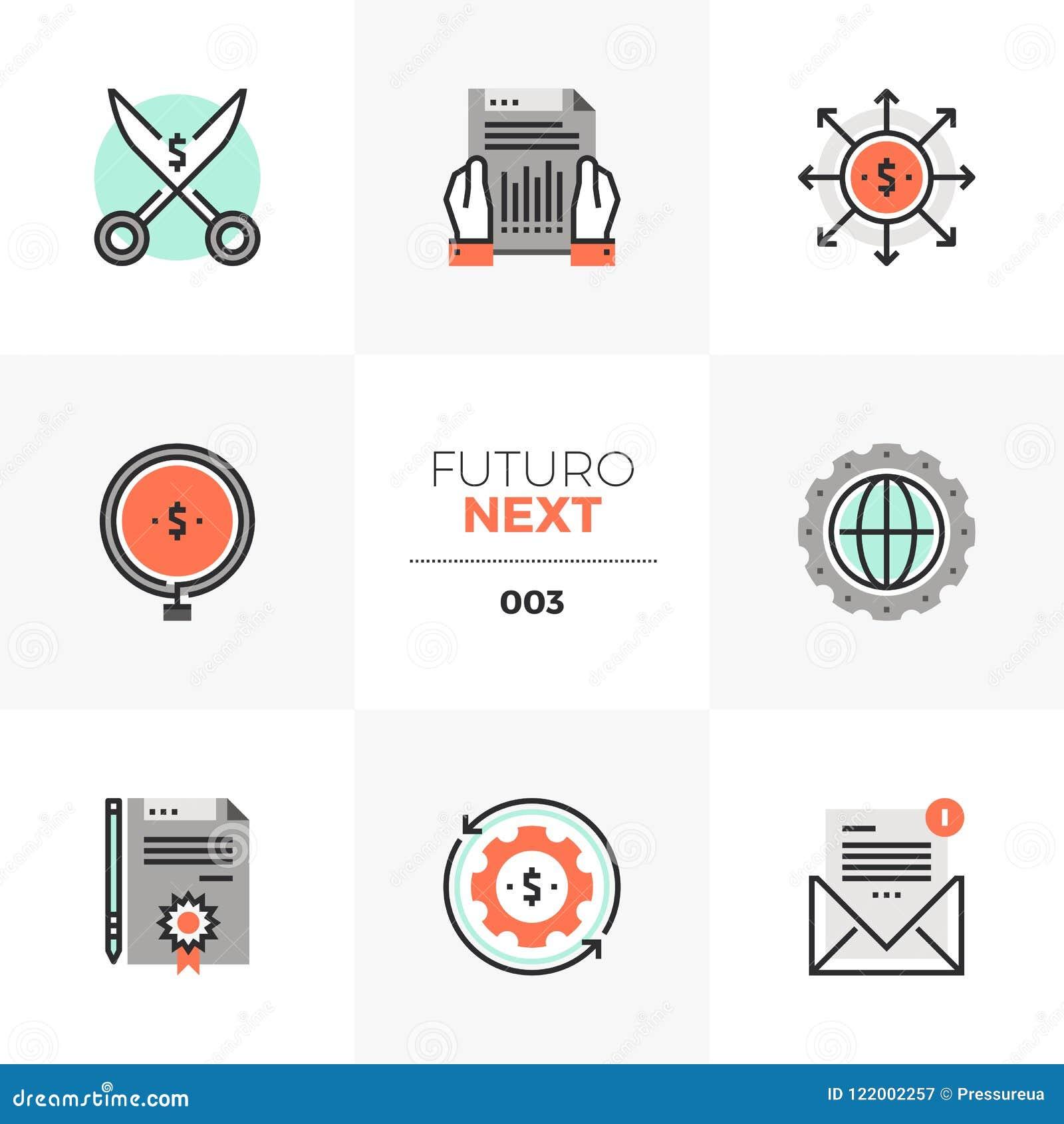 Przepływu Gotówki Futuro Następne ikony