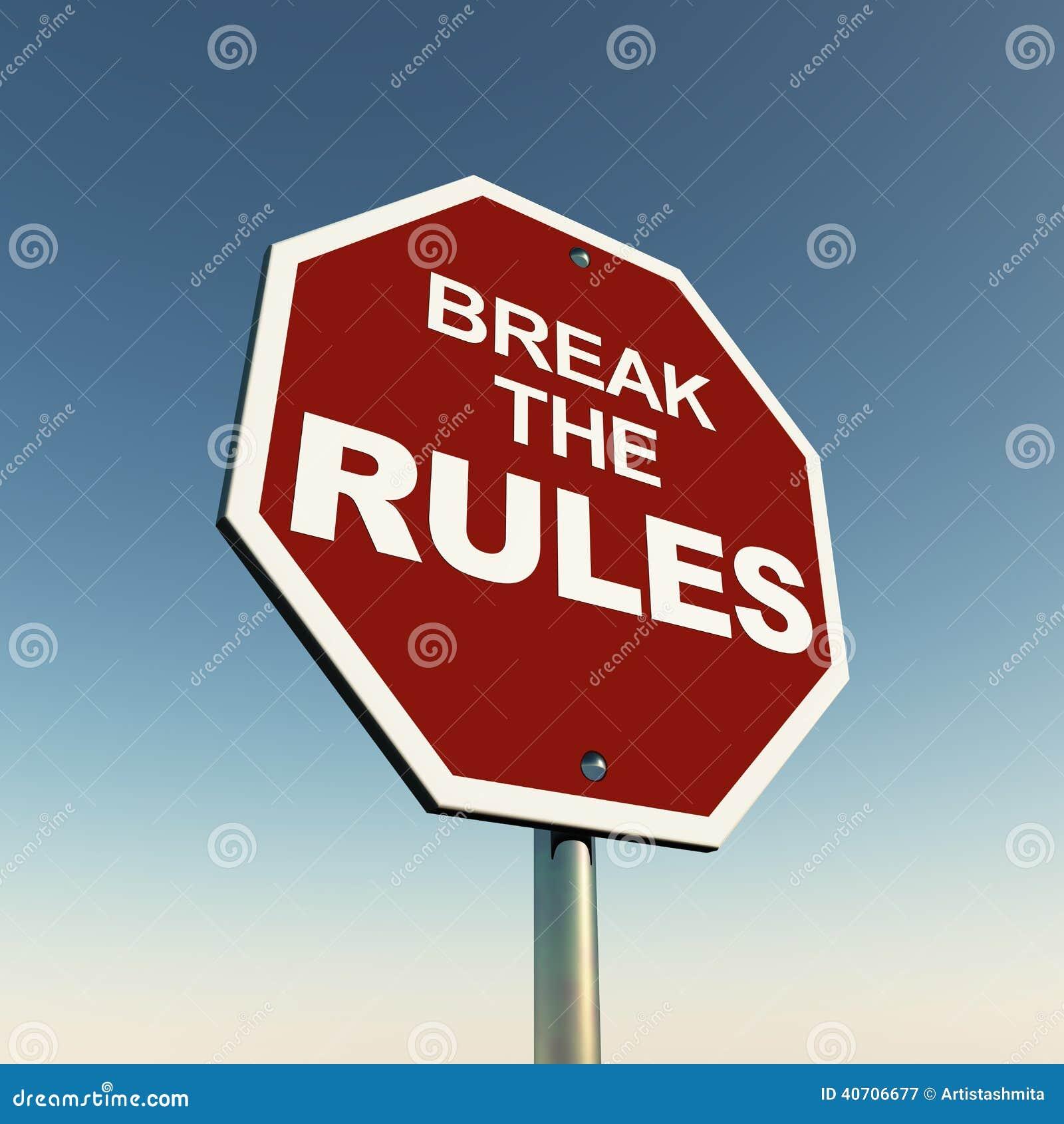 Przerw reguły