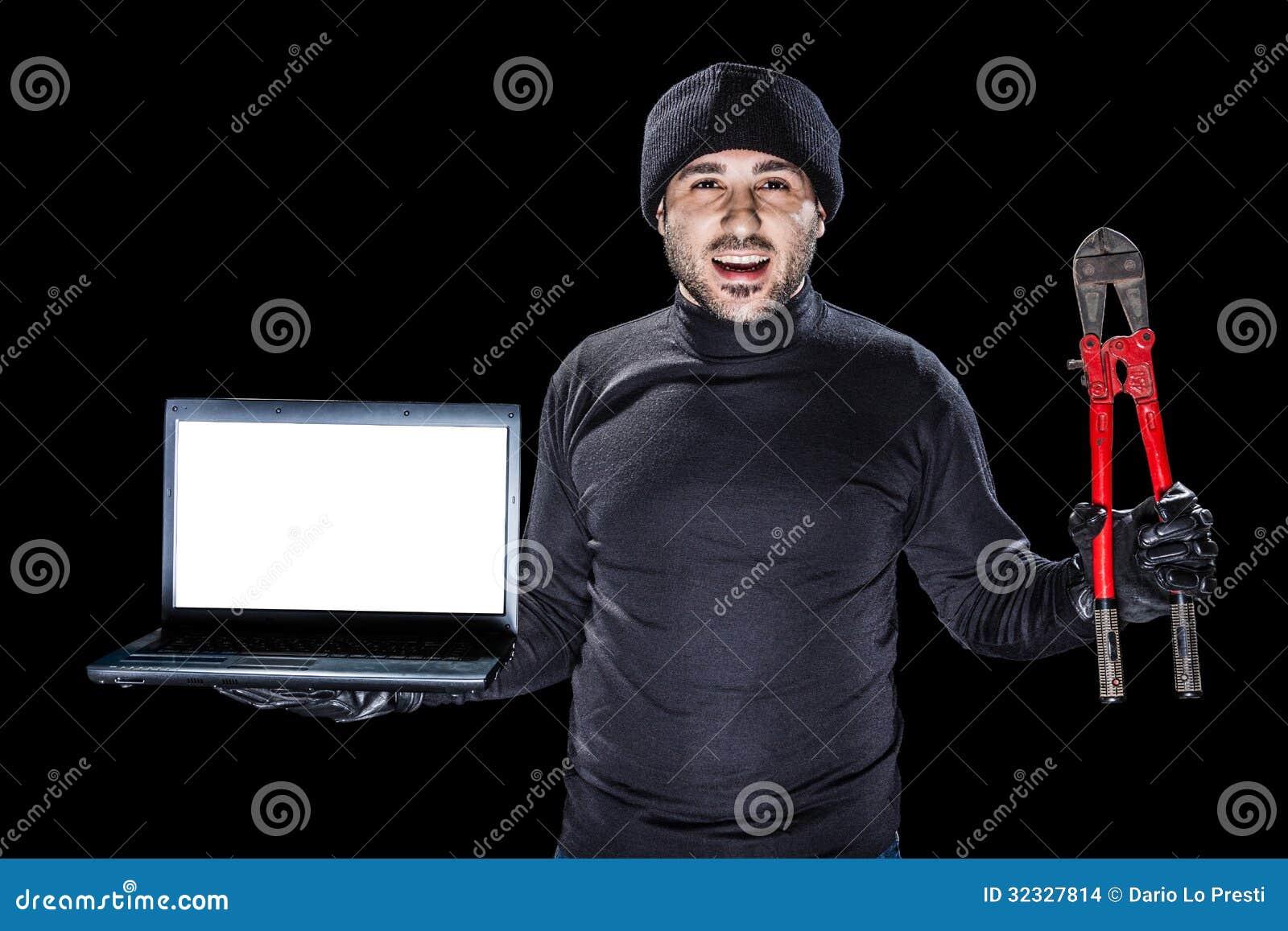 Przestępstwa z laptopem
