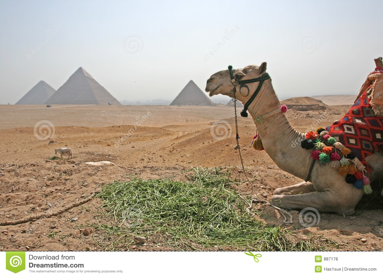 Przestań piramida na lunch
