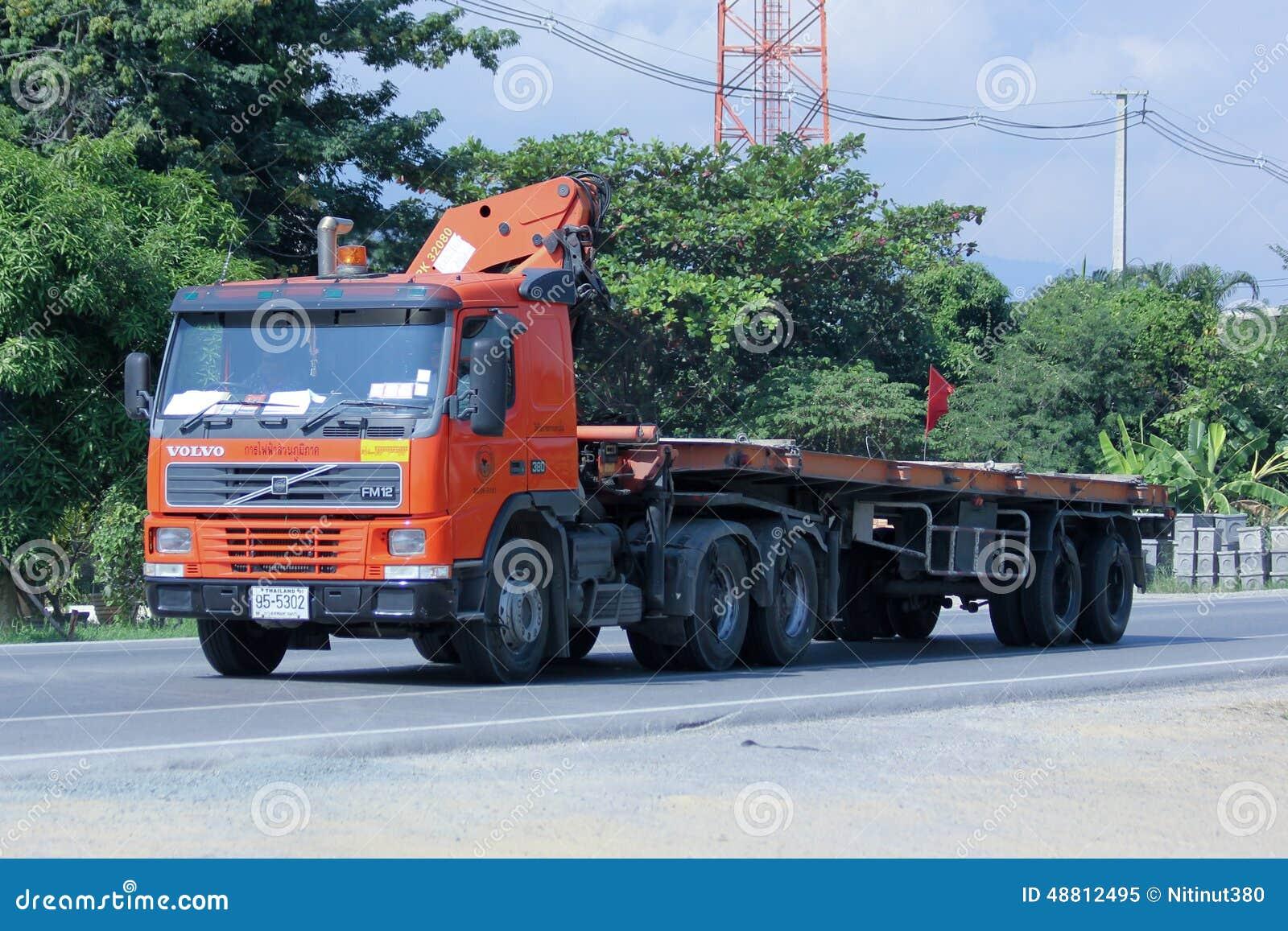 Przewozi samochodem z żurawiem Małomiasteczkowa eletricity władza Tajlandia