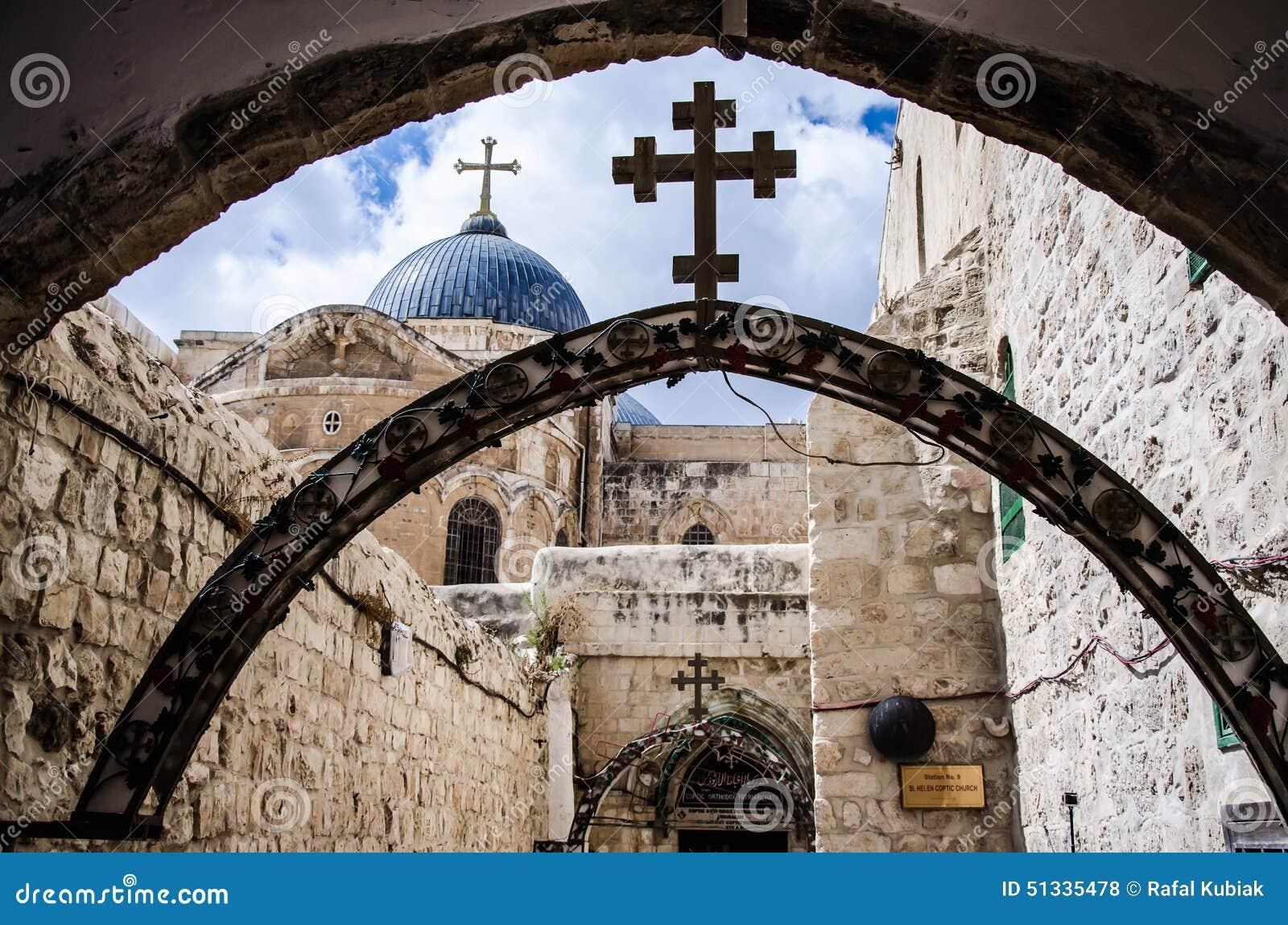 Przez dolorosa, Jerusalem