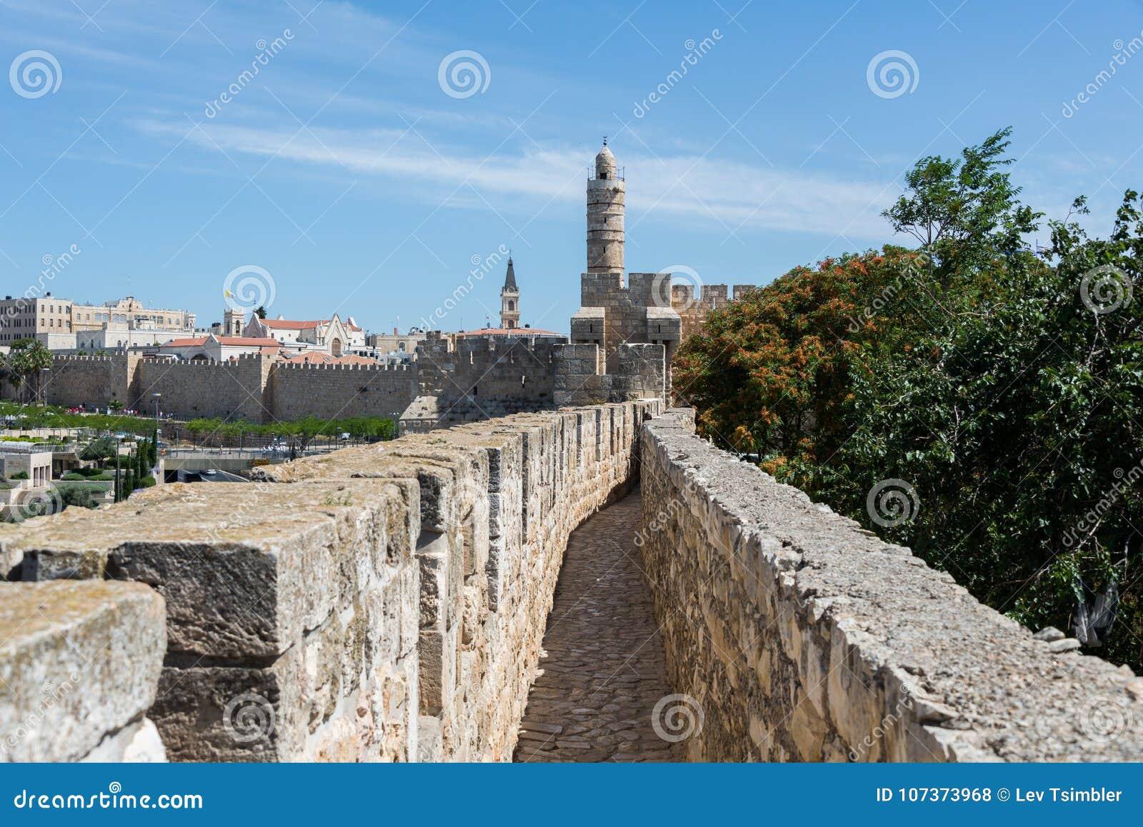 Przy Ramparts spacerem w Jerozolima