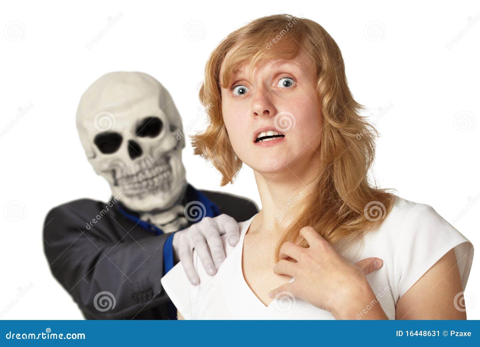 Przychodził śmierć odizolowywającą białej kobiety potomstwa